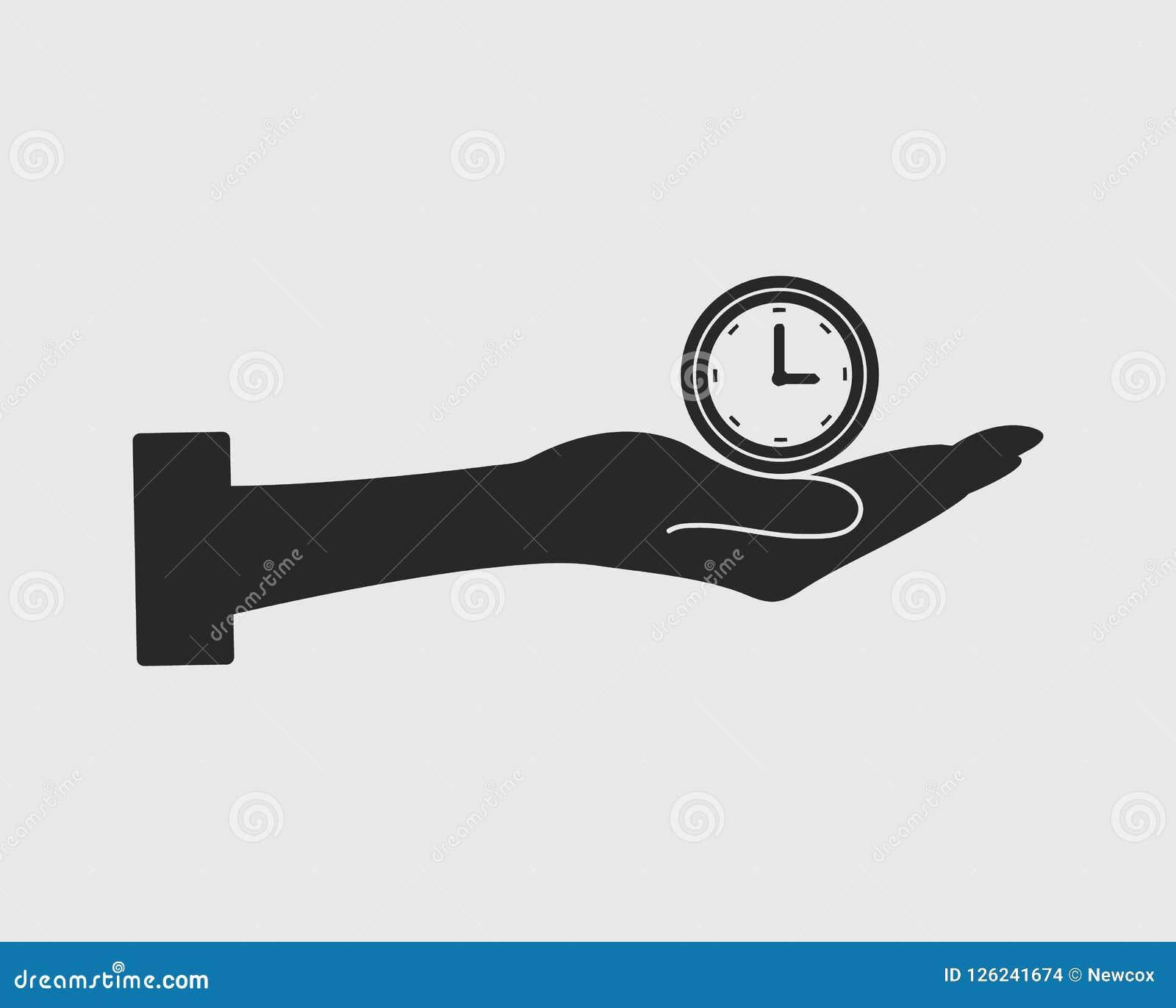 Значок вектора контроля времени