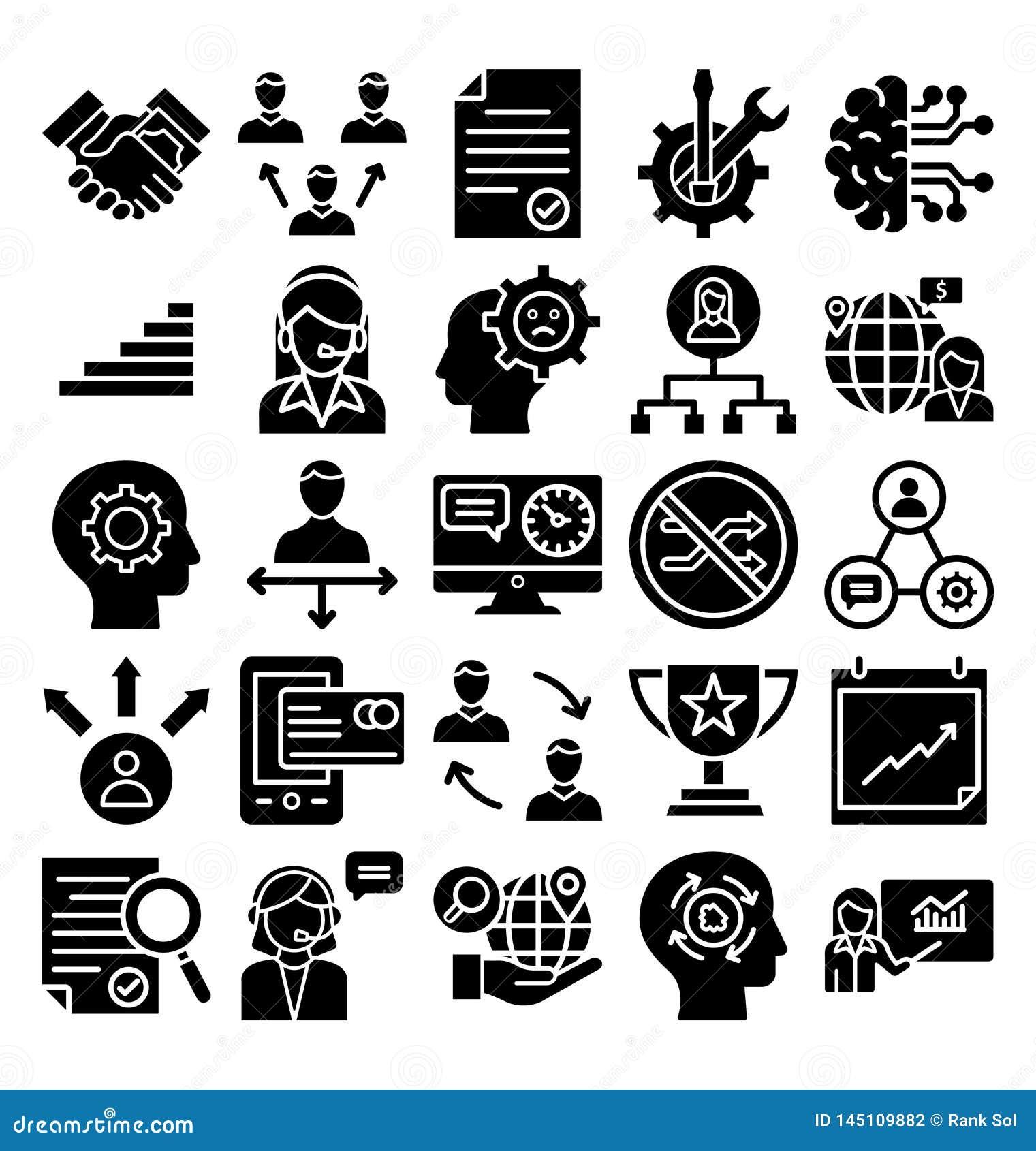Значок вектора торговлей дела значка вектора торговлей дела editable editable