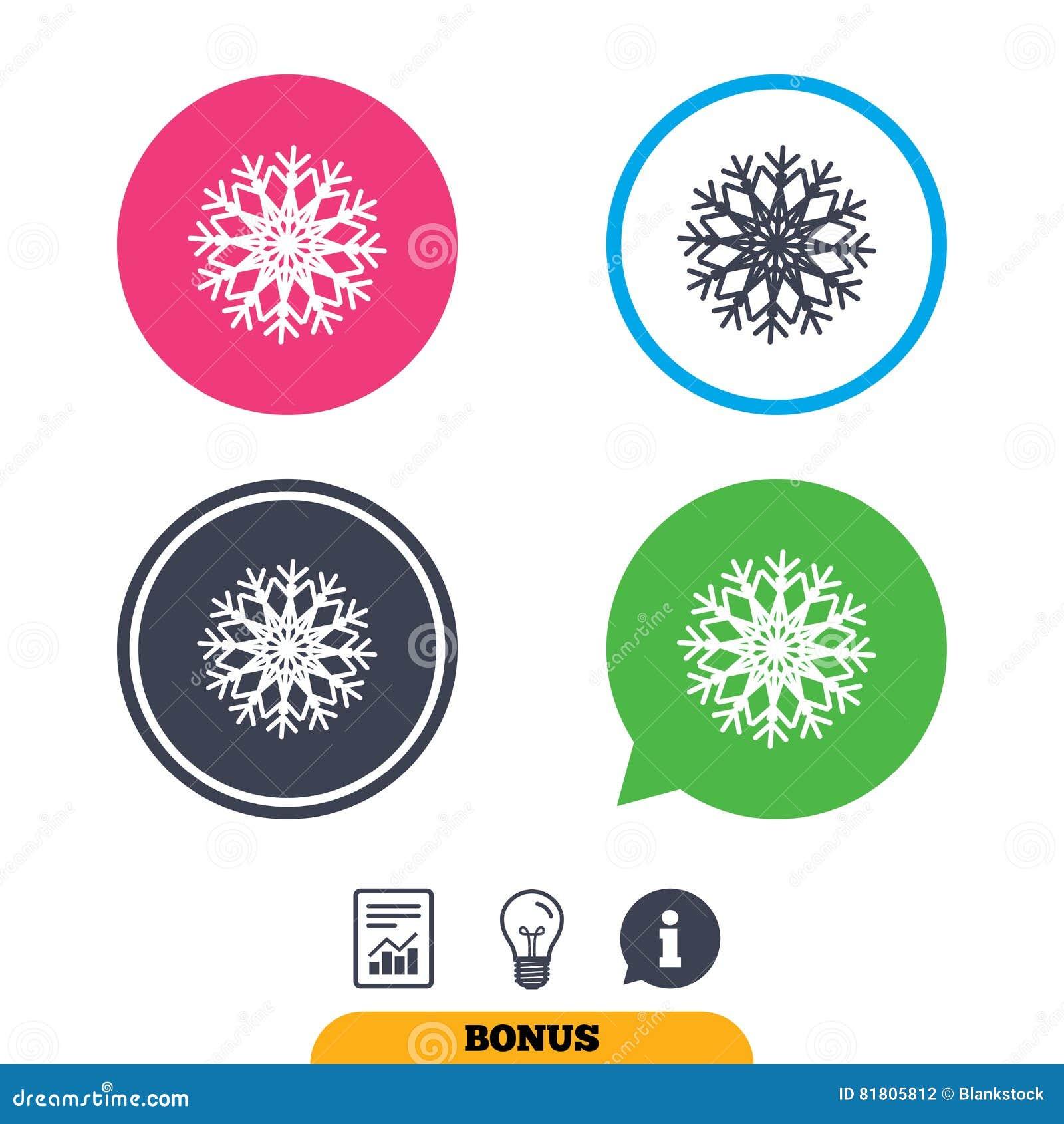 Значок знака снежинки художнический Кондиционер