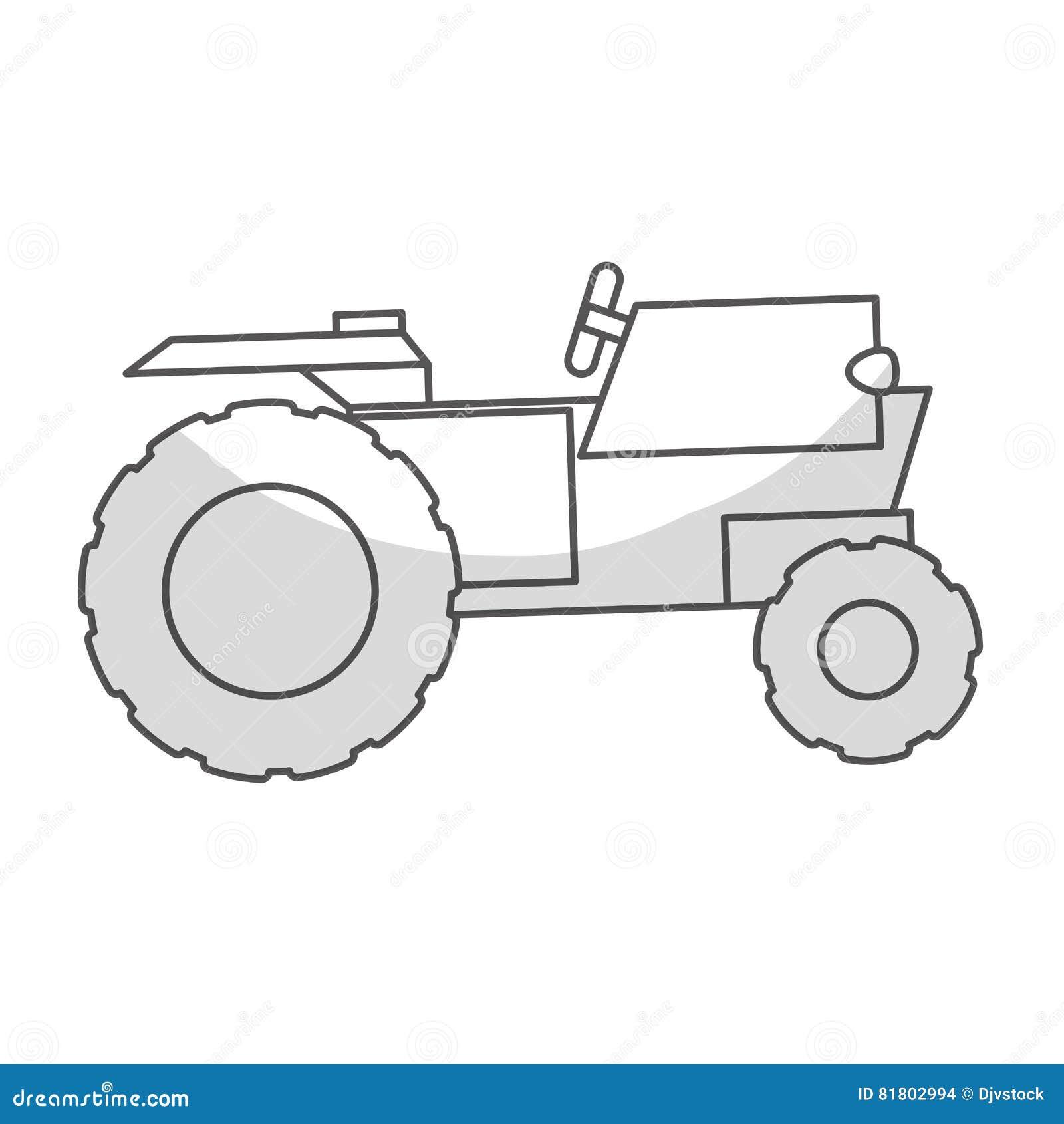 Значок корабля трактора
