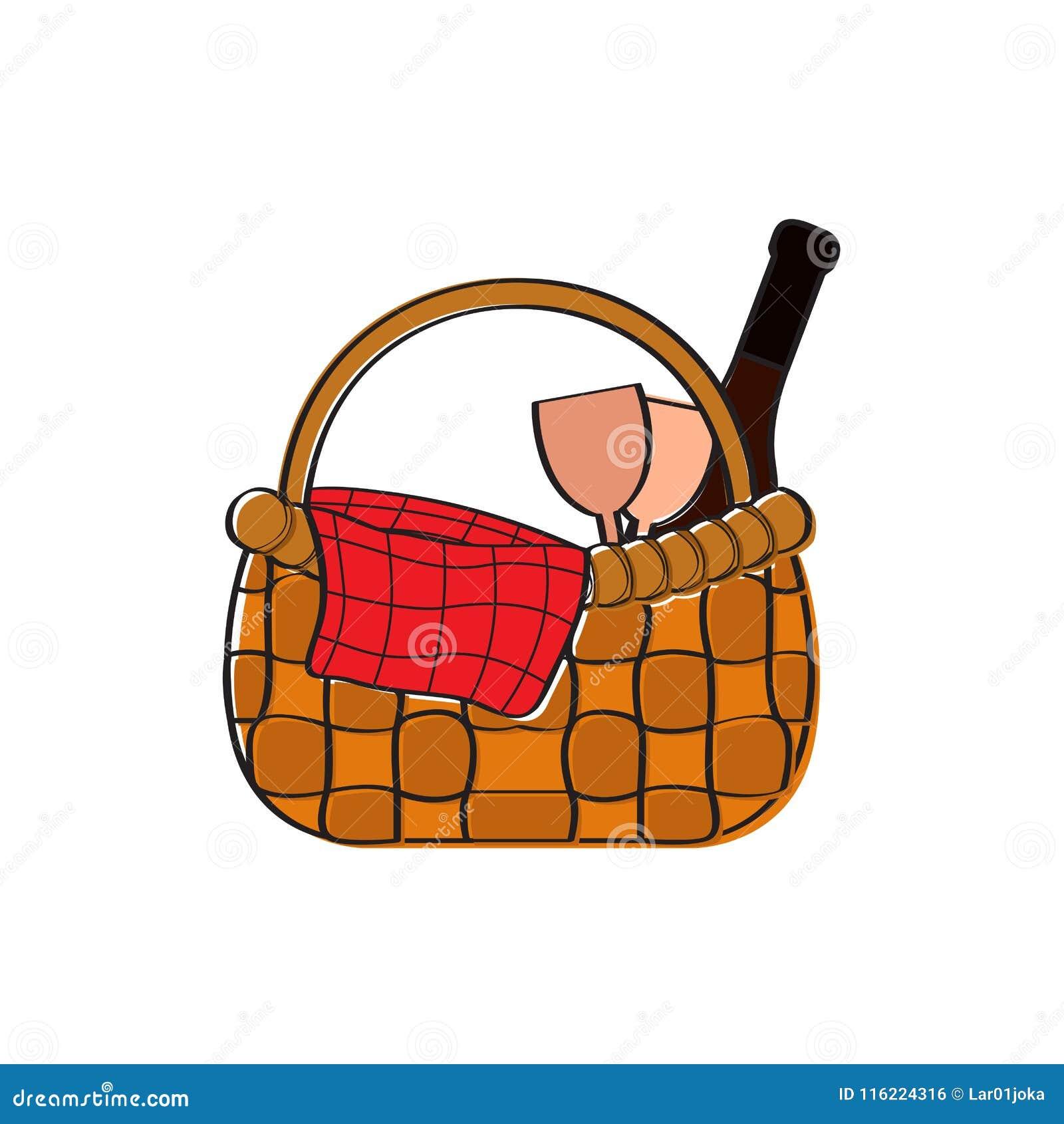 значок корзины пикника