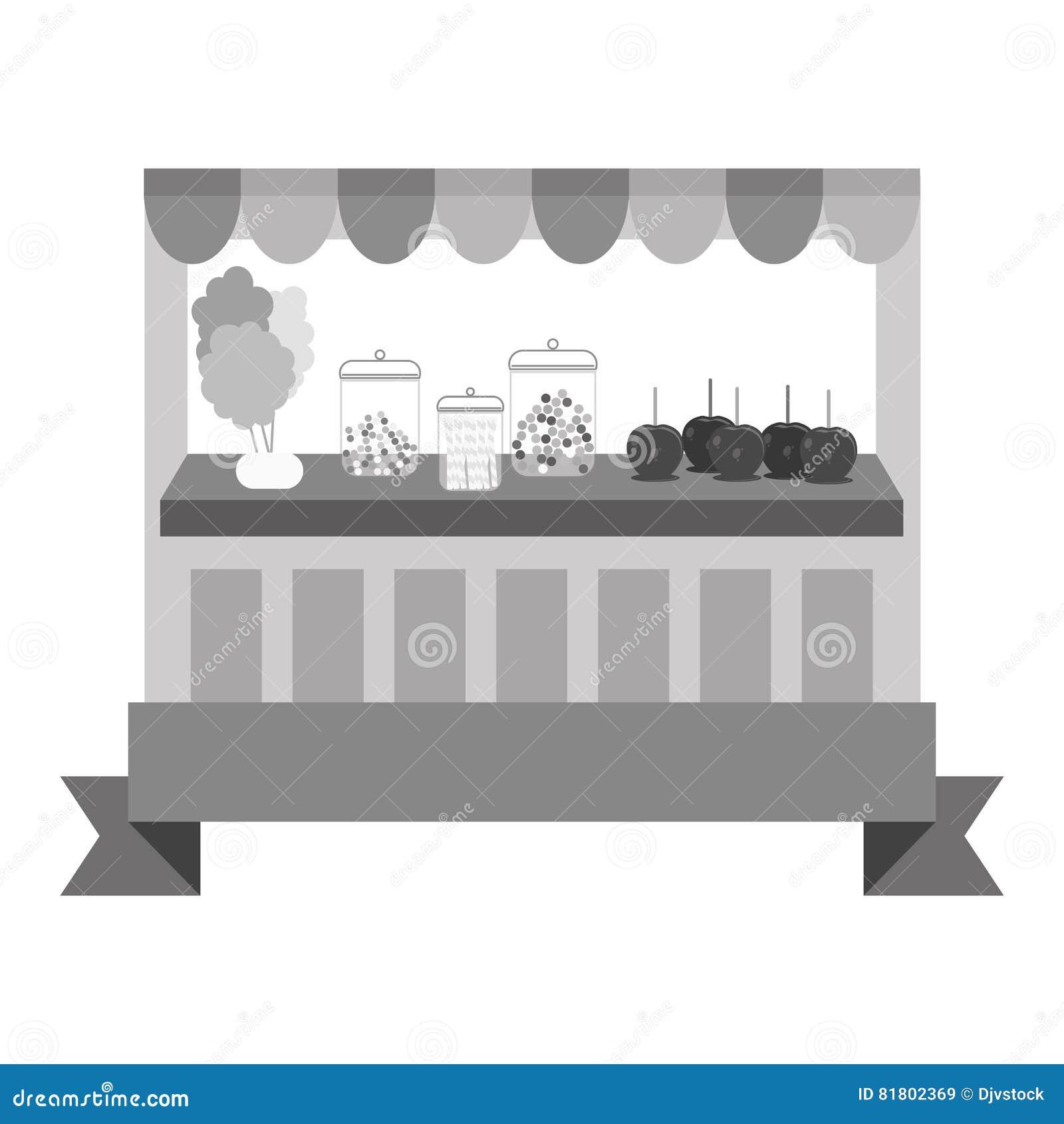 Значок магазина конфеты