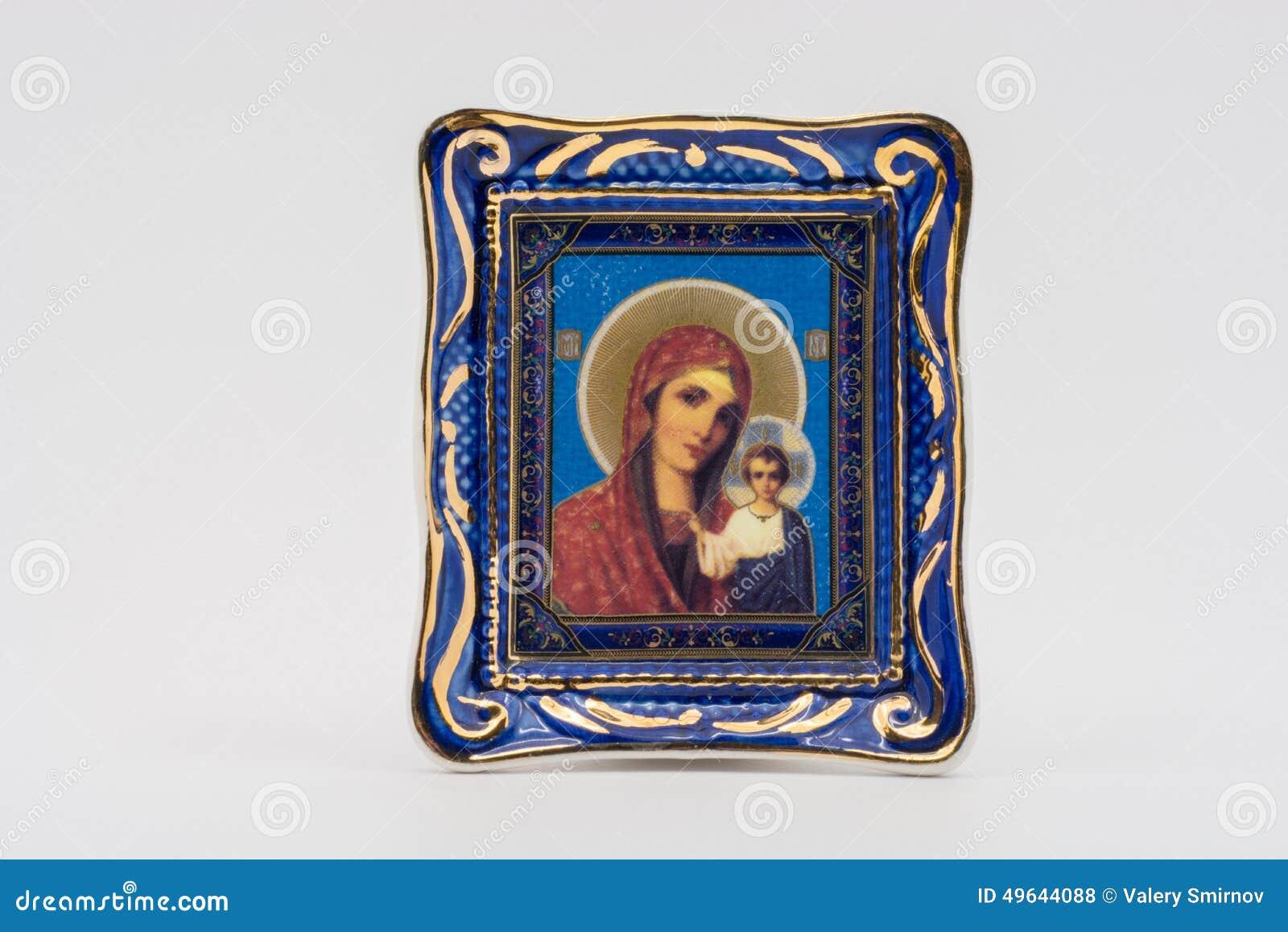 Значок матери бога Казани