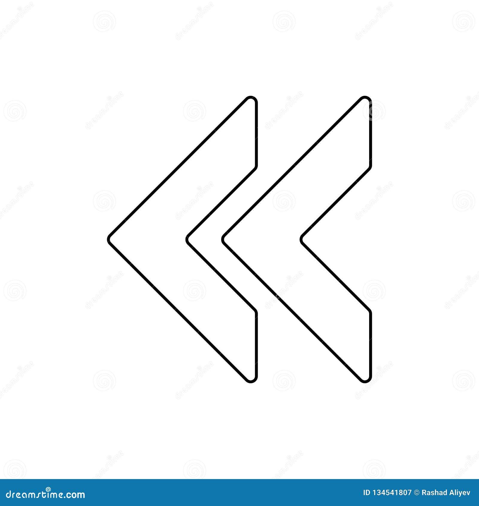 значок метки backsight Элемент сети для мобильных концепции и значка приложений сети Тонкая линия значок для дизайна вебсайта и р