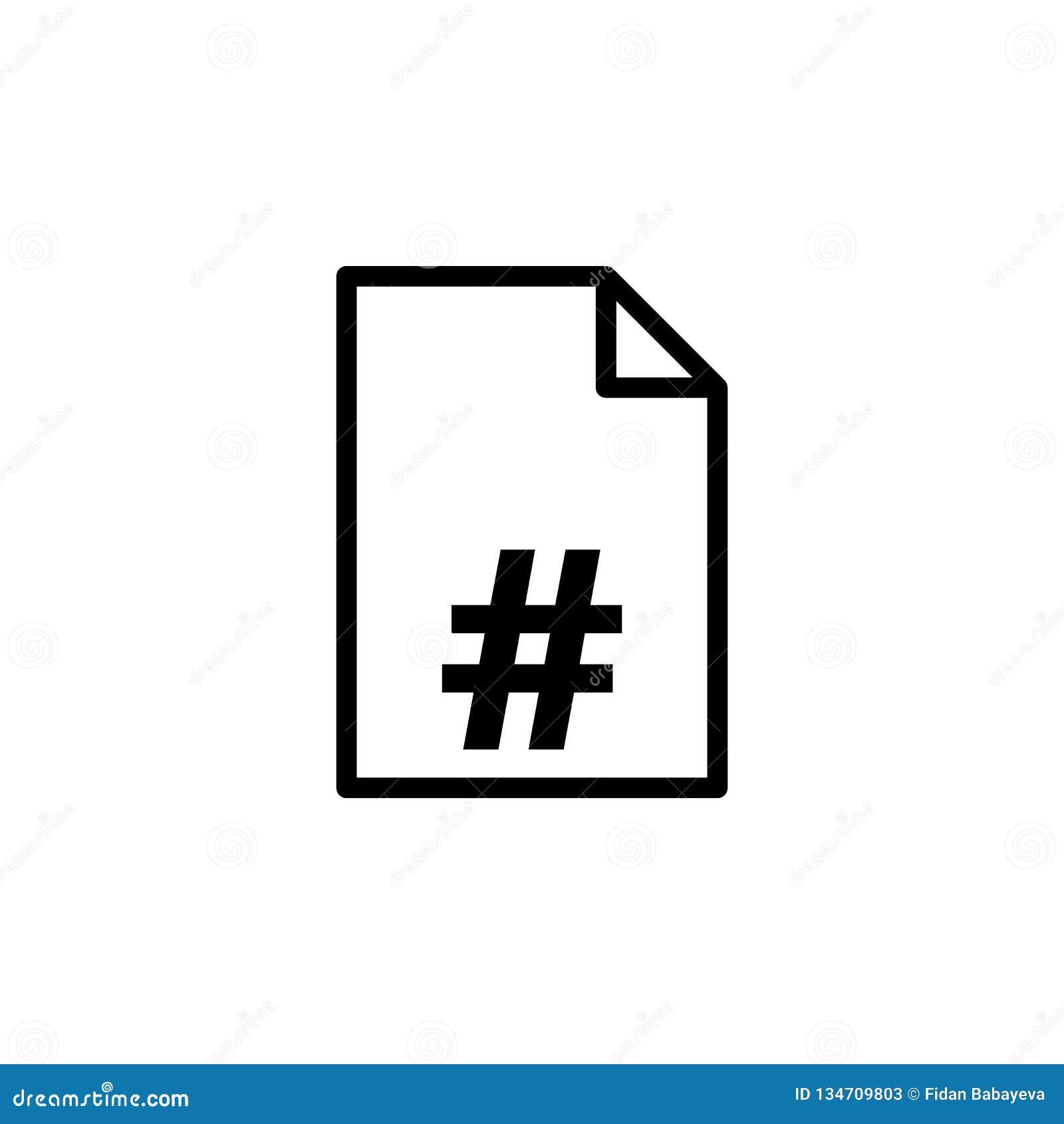 Значок номера страницы Смогите быть использовано для сети, логотипа, мобильного приложения, UI, UX