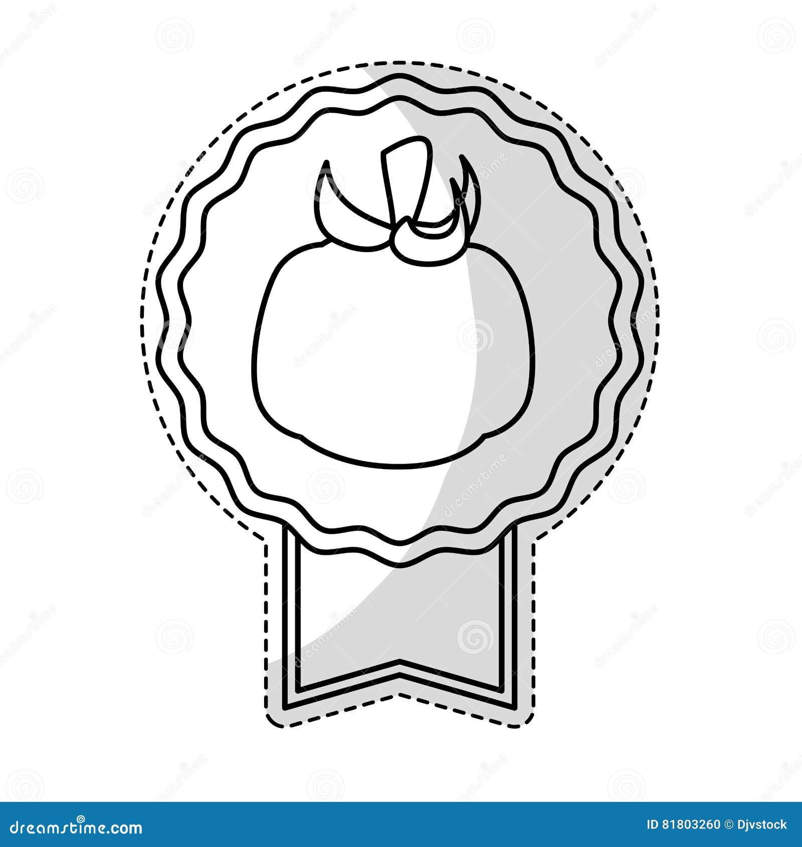 Значок овоща томата