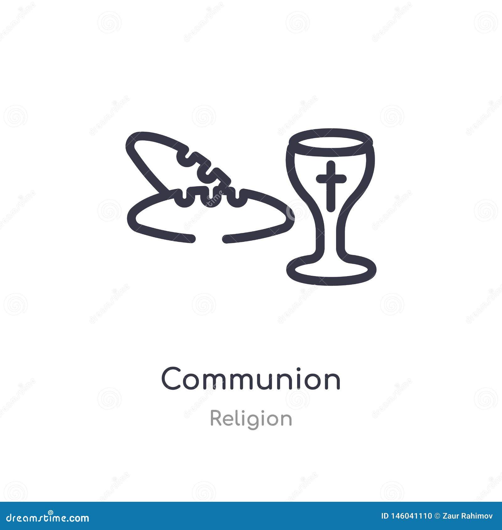 значок плана общности изолированная линия иллюстрация вектора от собрания вероисповедания editable тонкий значок общности хода на