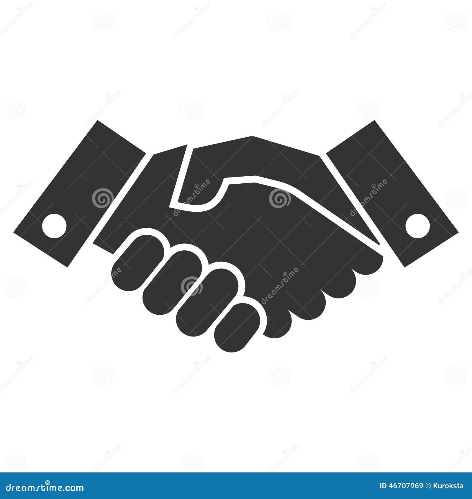 Значок рукопожатия