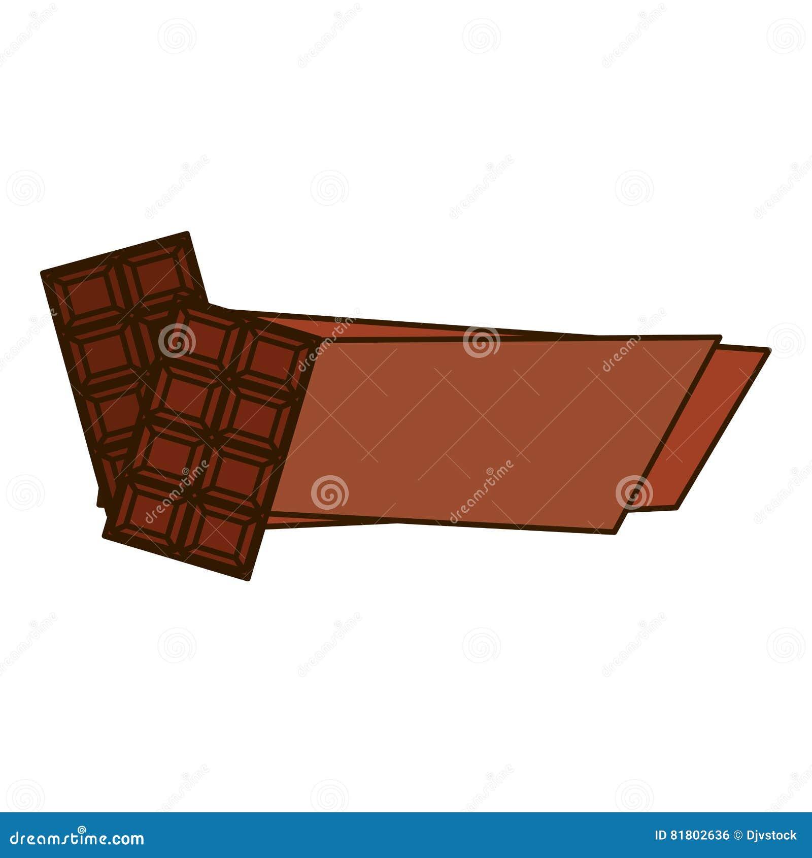 Значок сладостного шоколада