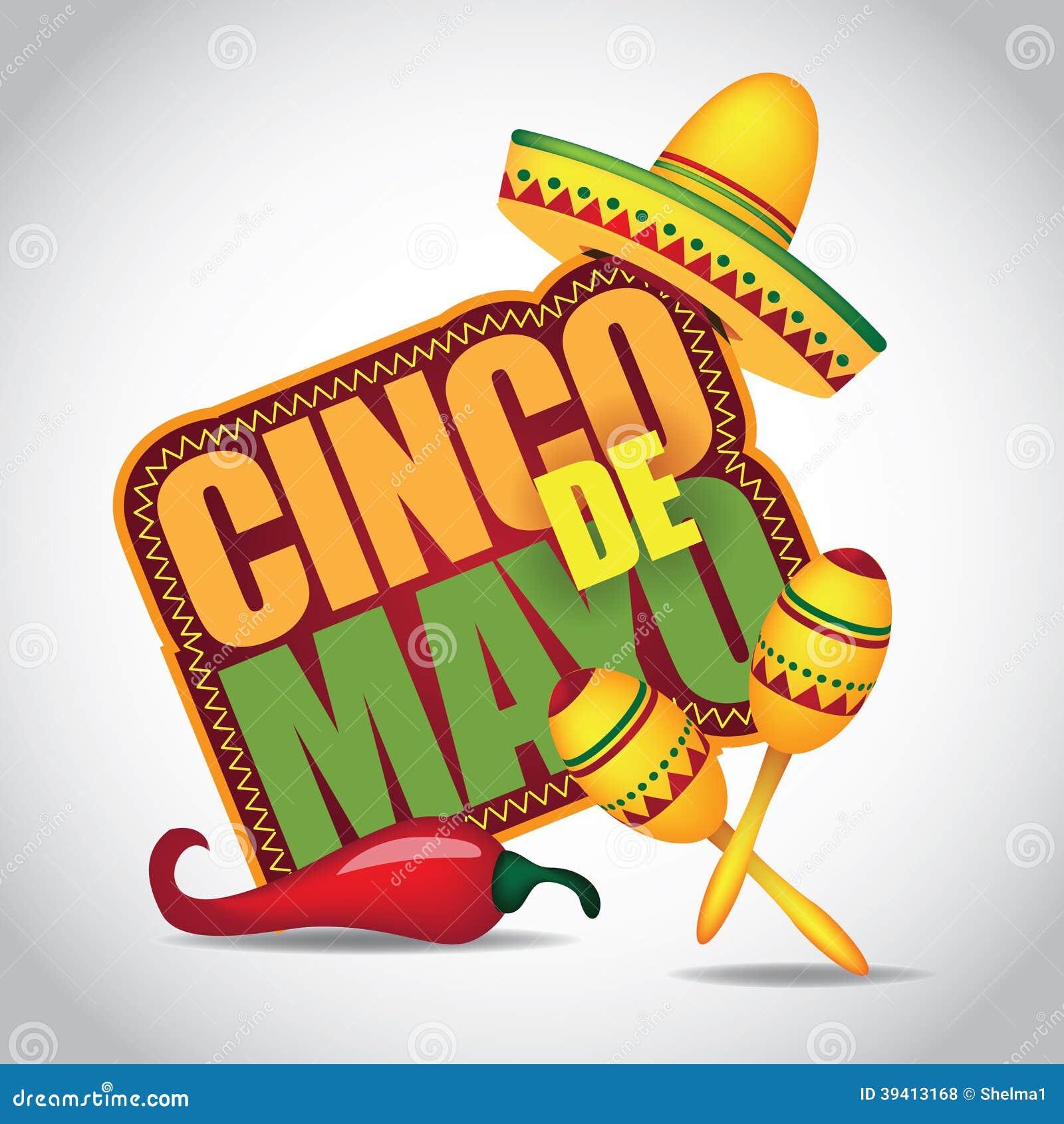 Значок Cinco De Mayo