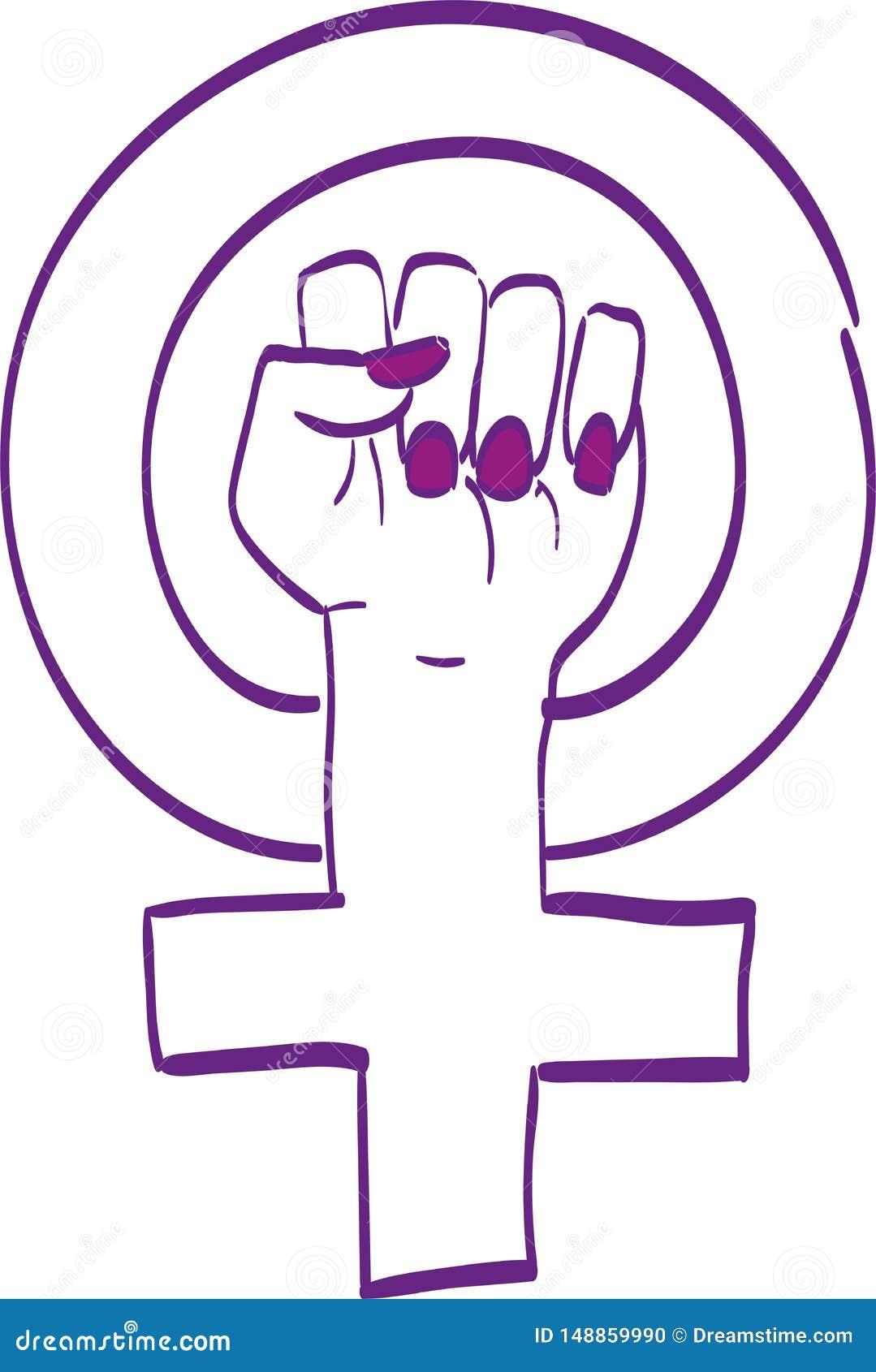 Значок Vilote Feminis
