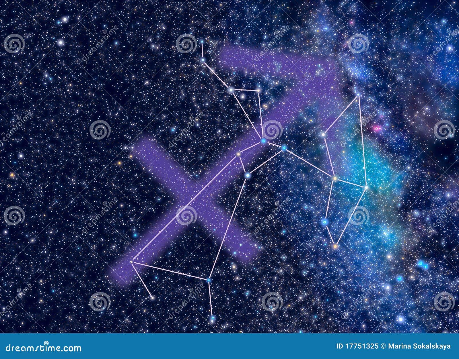 зодиак saggitarius созвездия