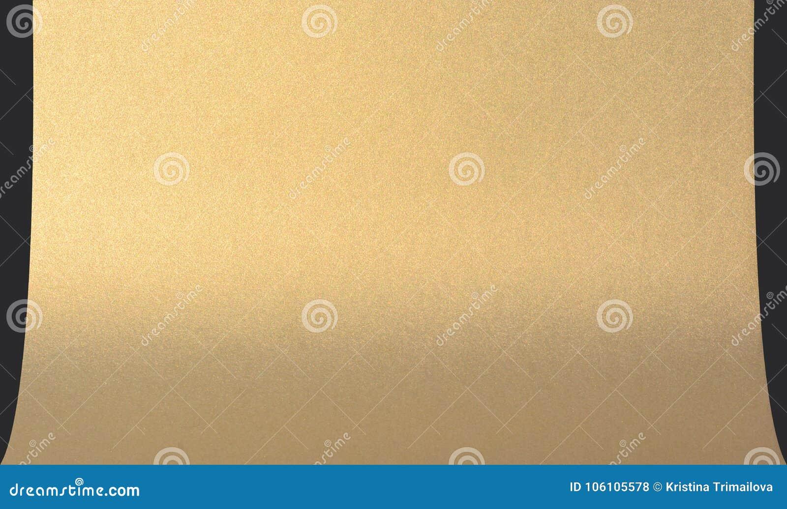 Золотая предпосылка текстуры для photoset Стена краски цвета золота Роскошные золотые предпосылка и обои Сусальное золото или