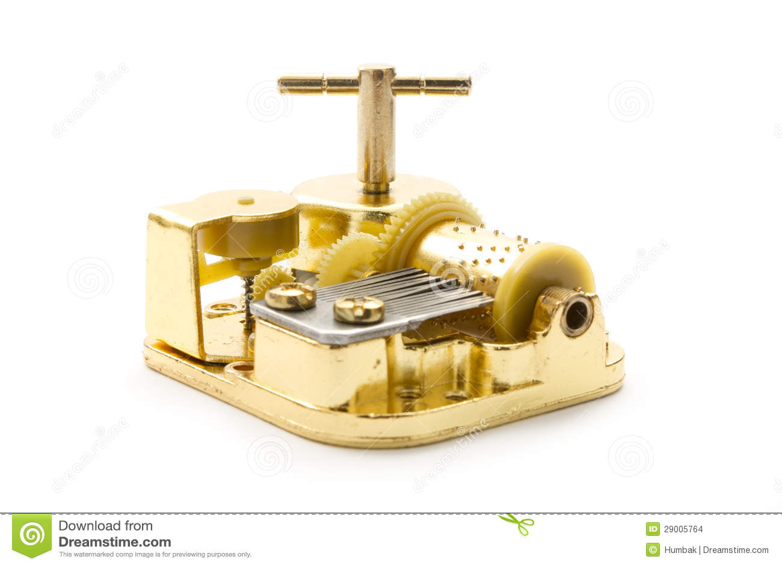 Золотистая коробка нот