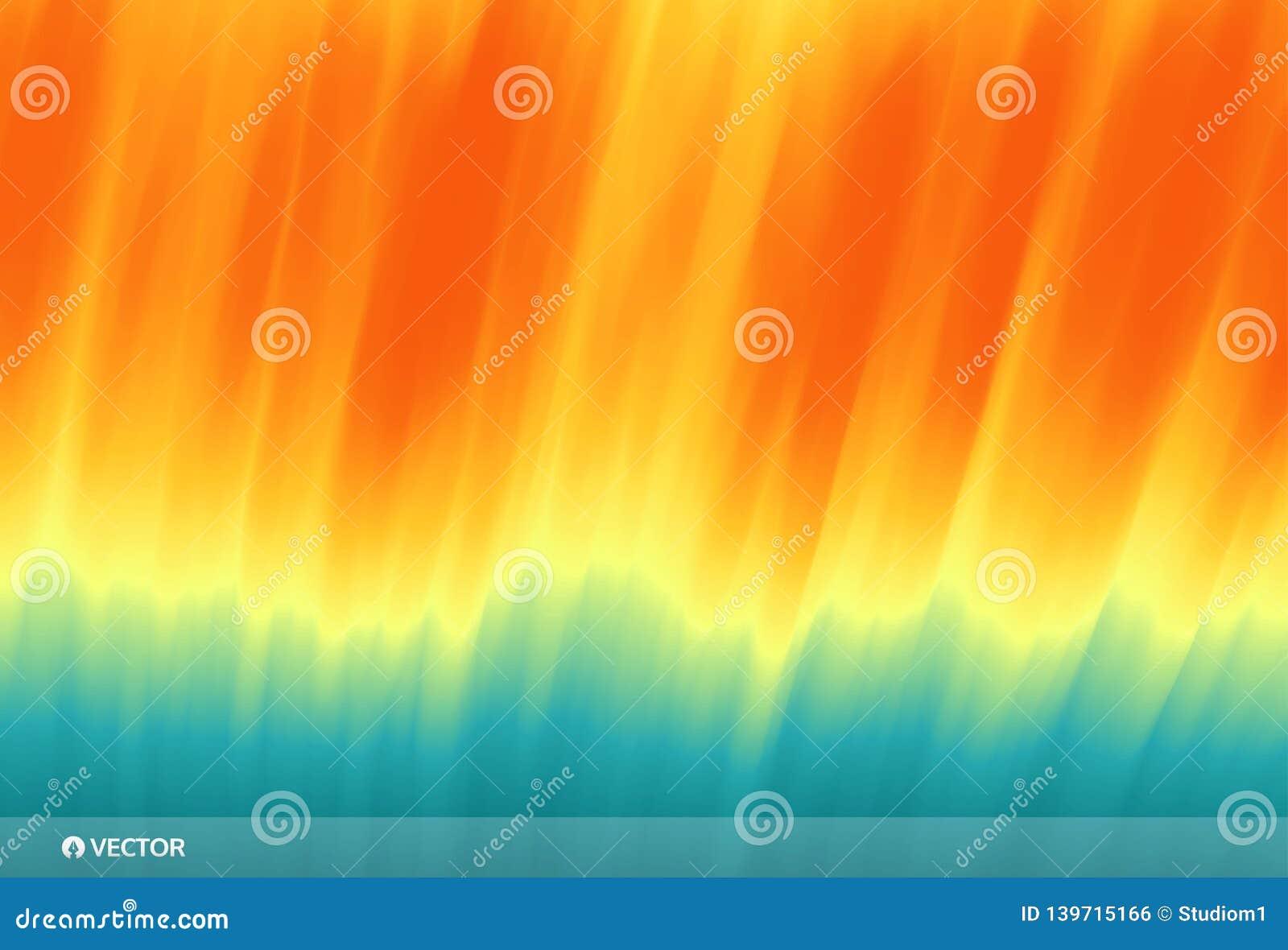 золотистая поверхностная вода пульсаций Волна океана на песчаном пляже против предпосылки голубые облака field wispy неба природы