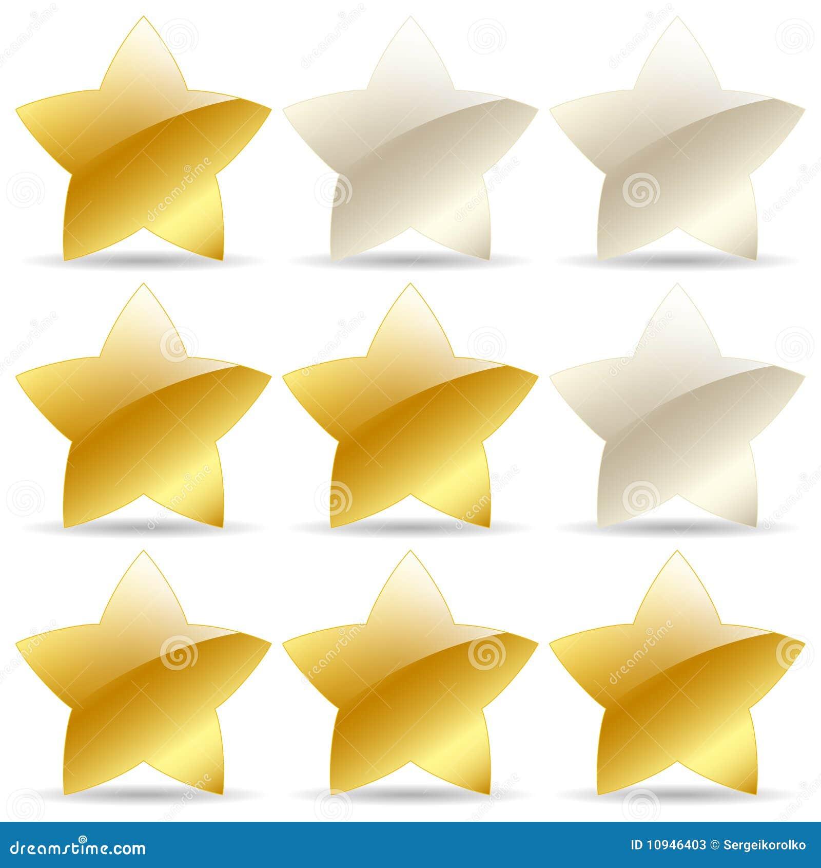 золотистые звезды номинальности