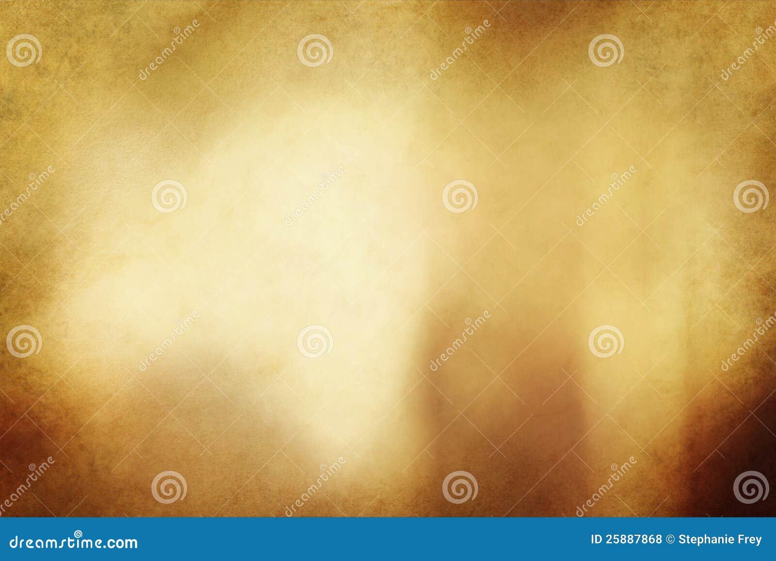 Золотистые текстура или предпосылка Grunge