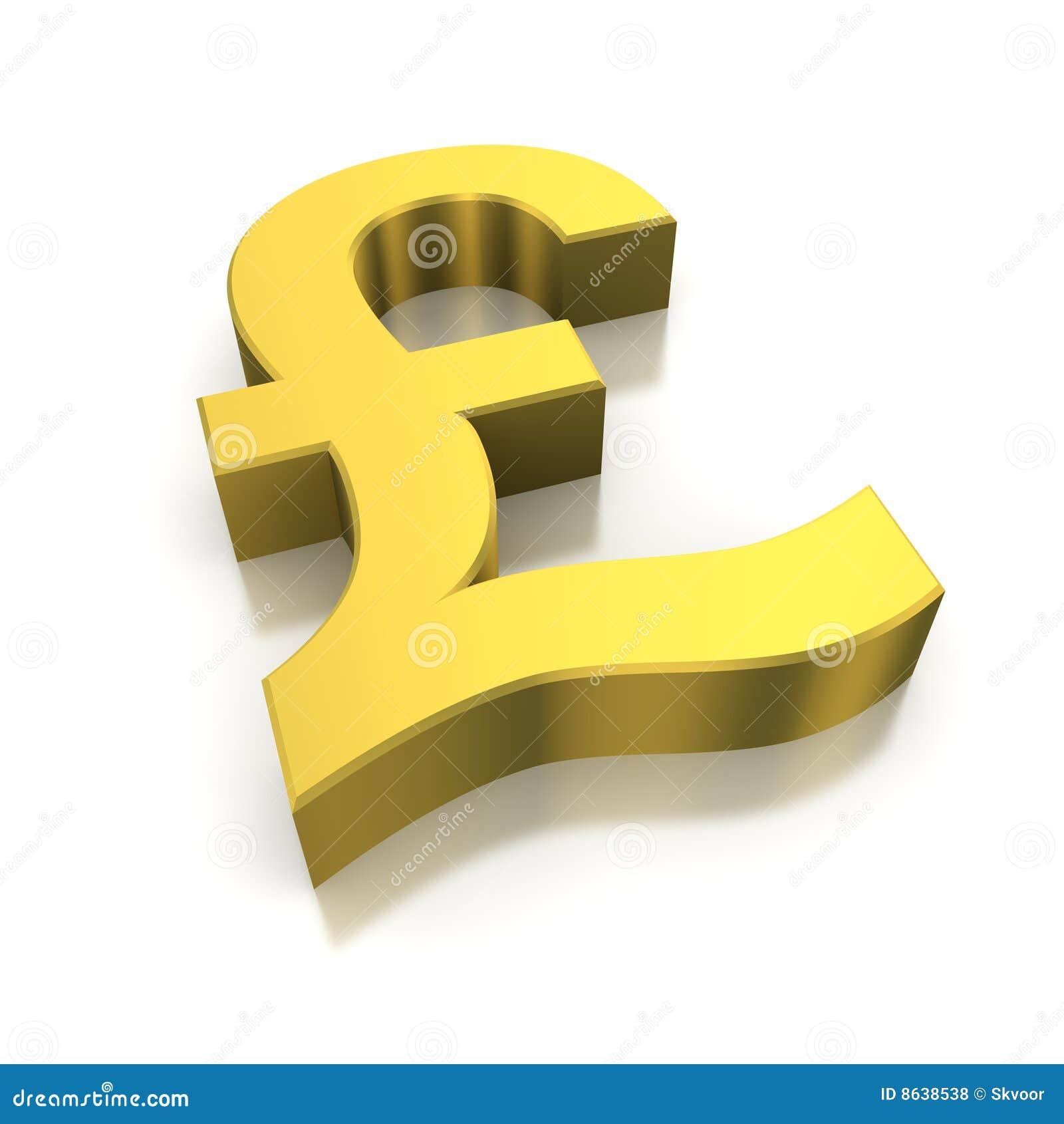 золотистый фунт