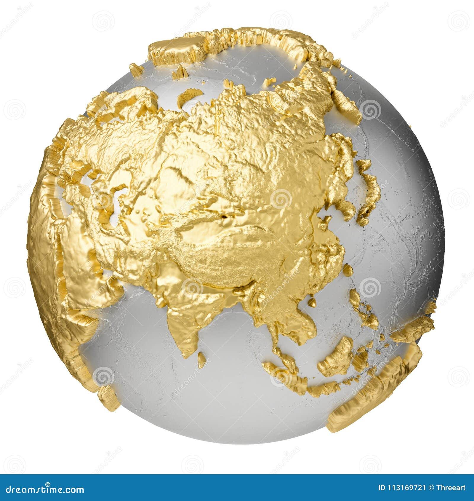 Золото Азия