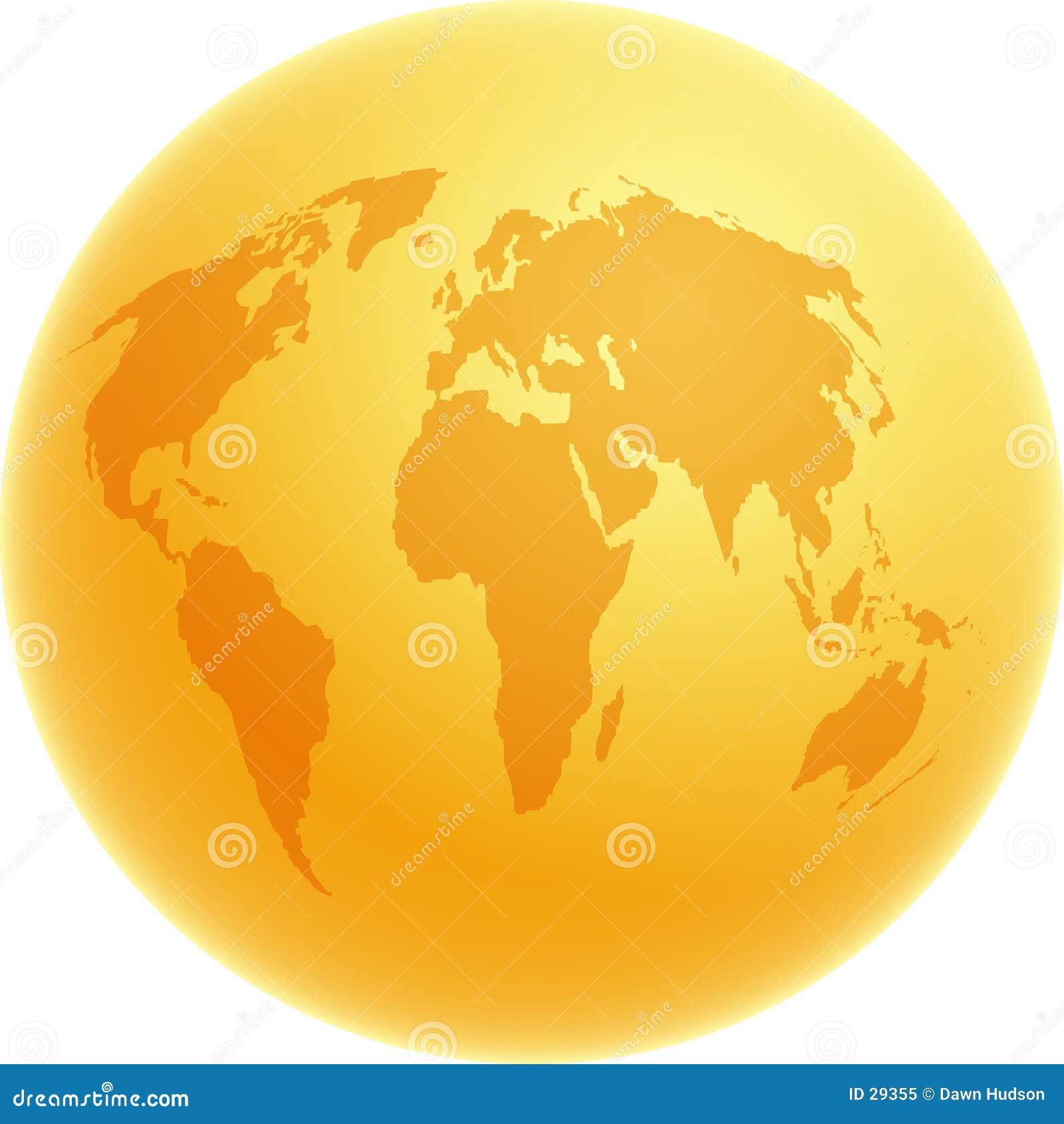 золото глобуса