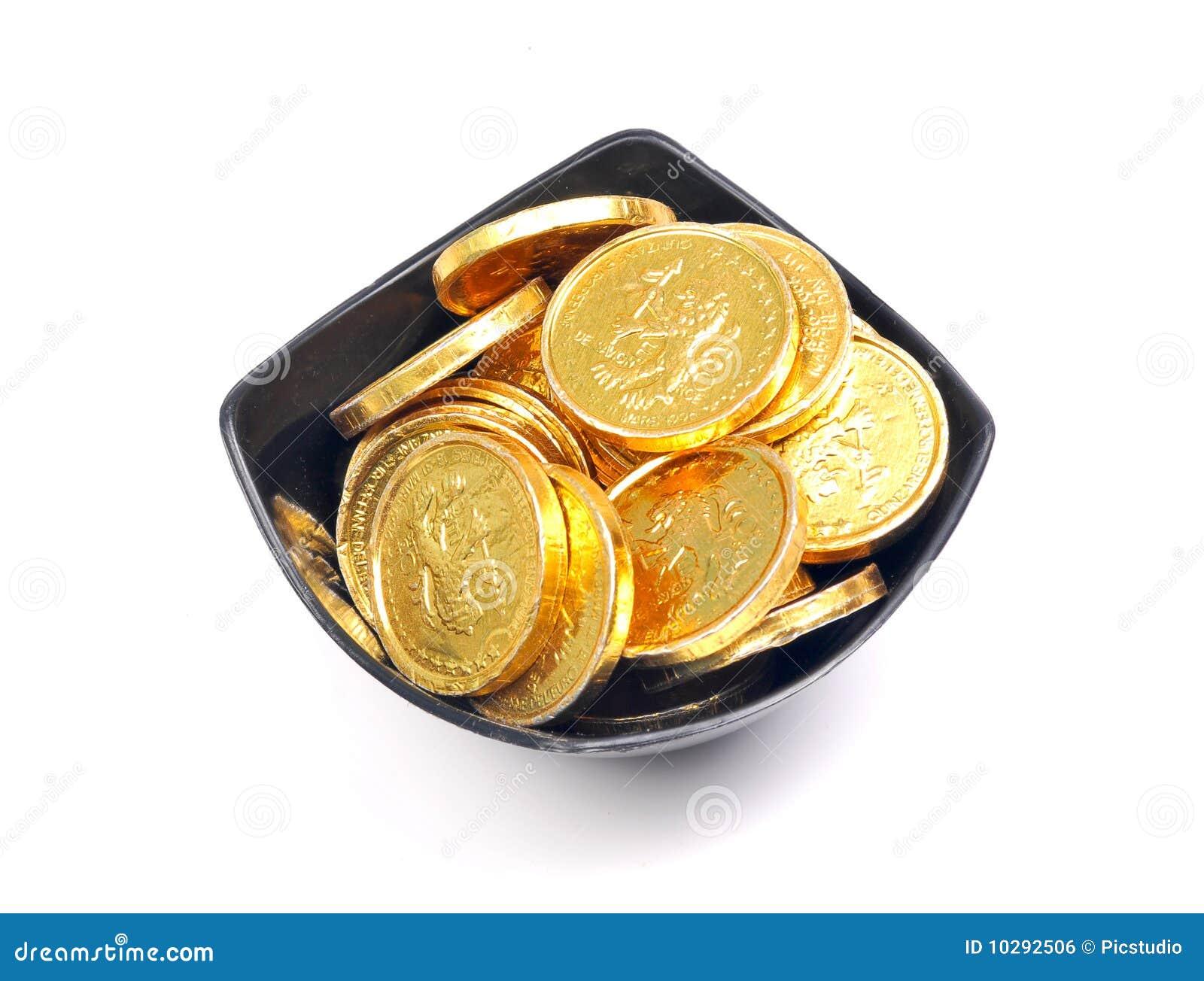 золото монеток шара