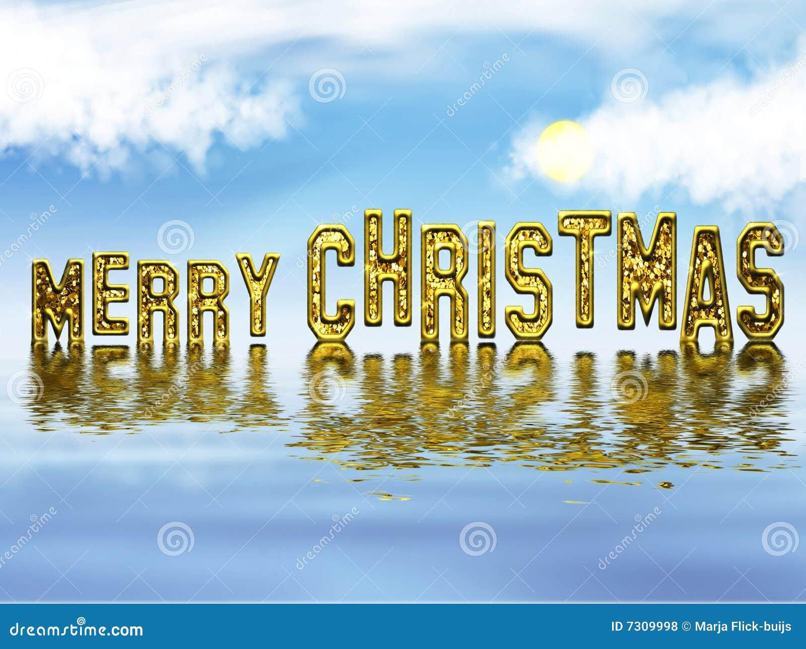 золото рождества веселое