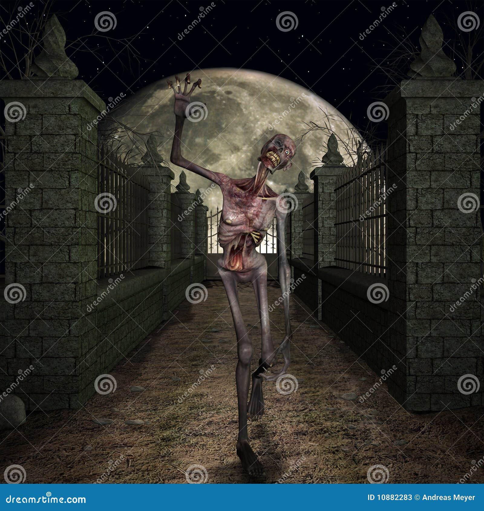 зомби места halloween
