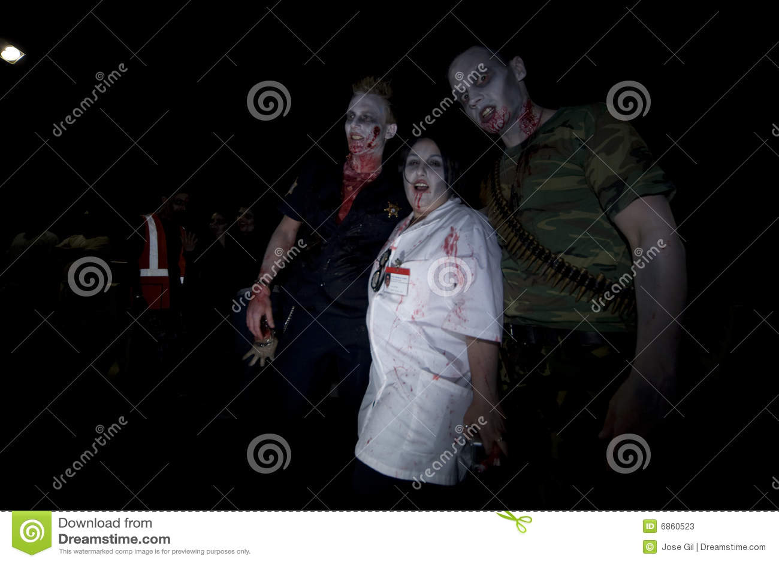 зомби прогулки la 19