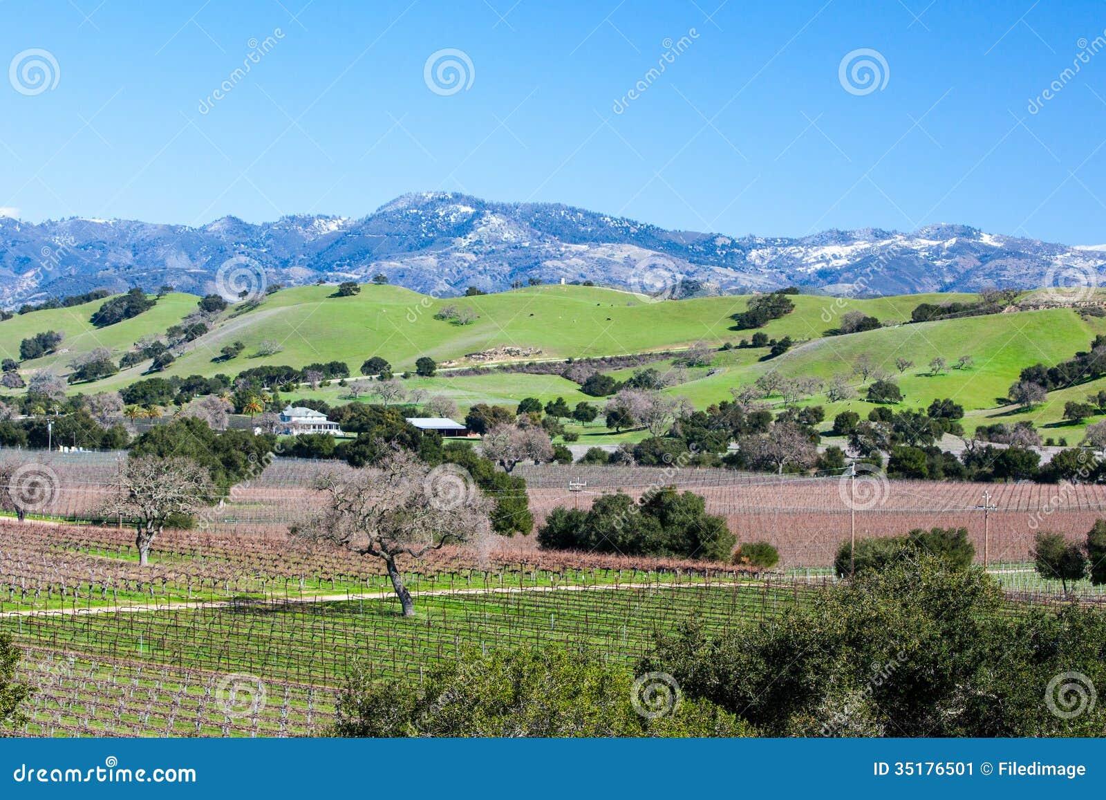 Зона вина Санта-Барбара