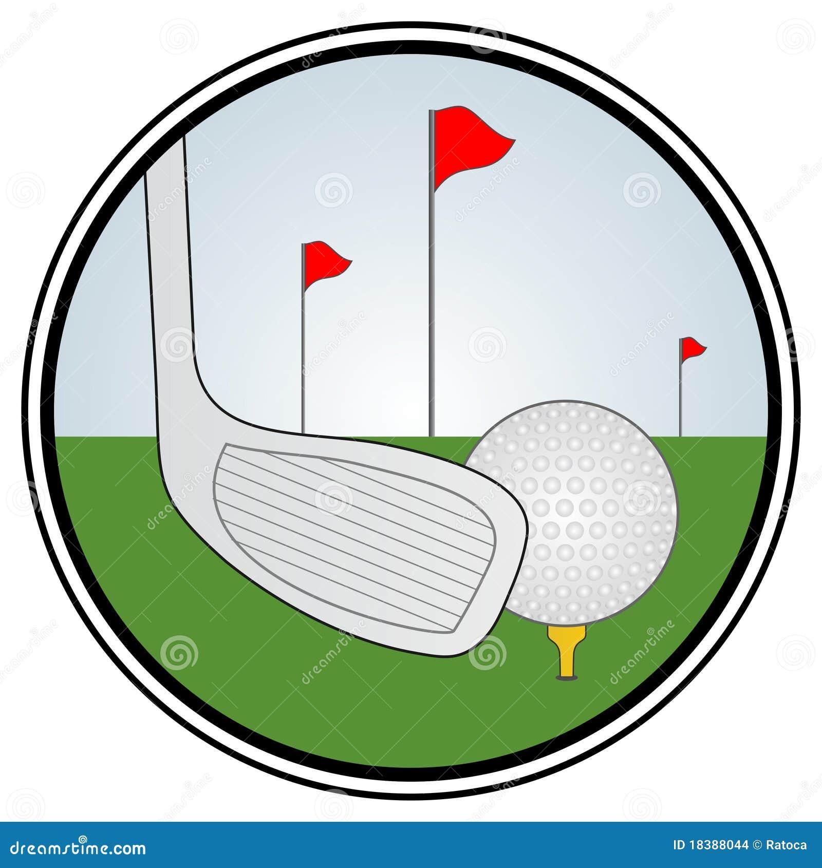 зона гольфа