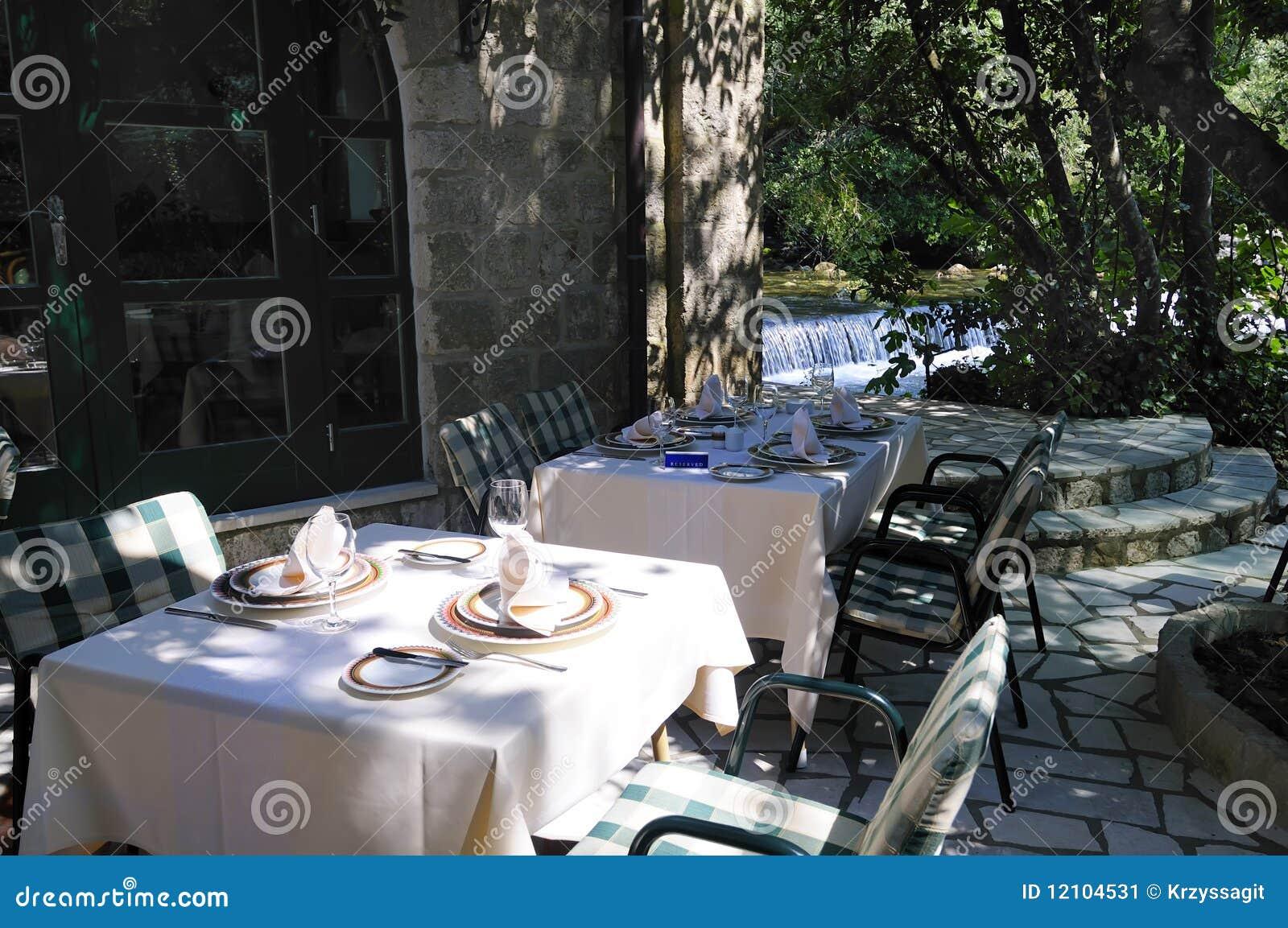 зона обедая ресторан