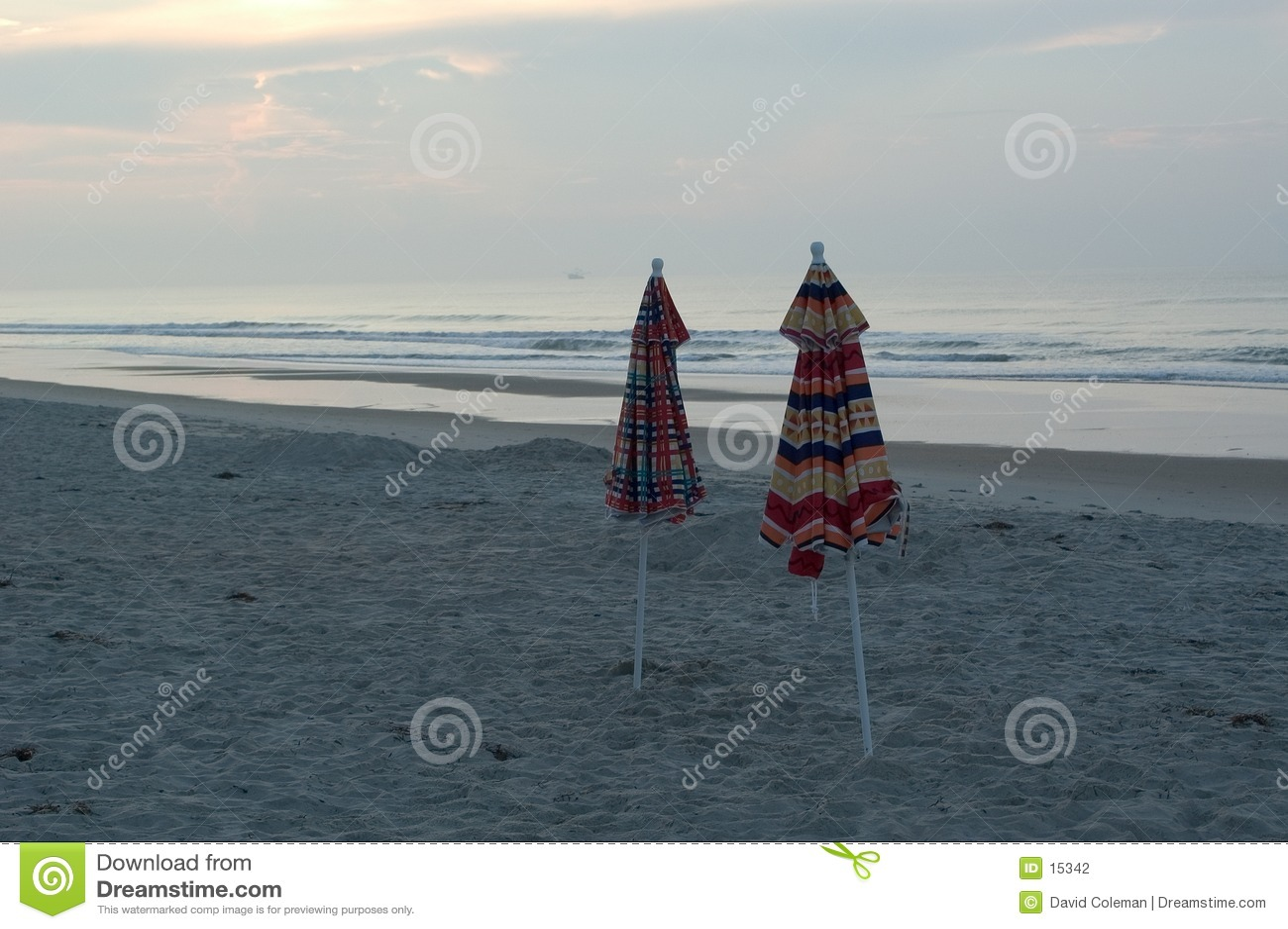 зонтики пляжа