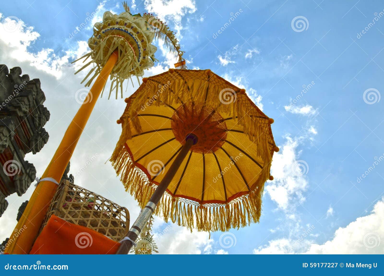 Зонтик Индонезии Бали традиционный