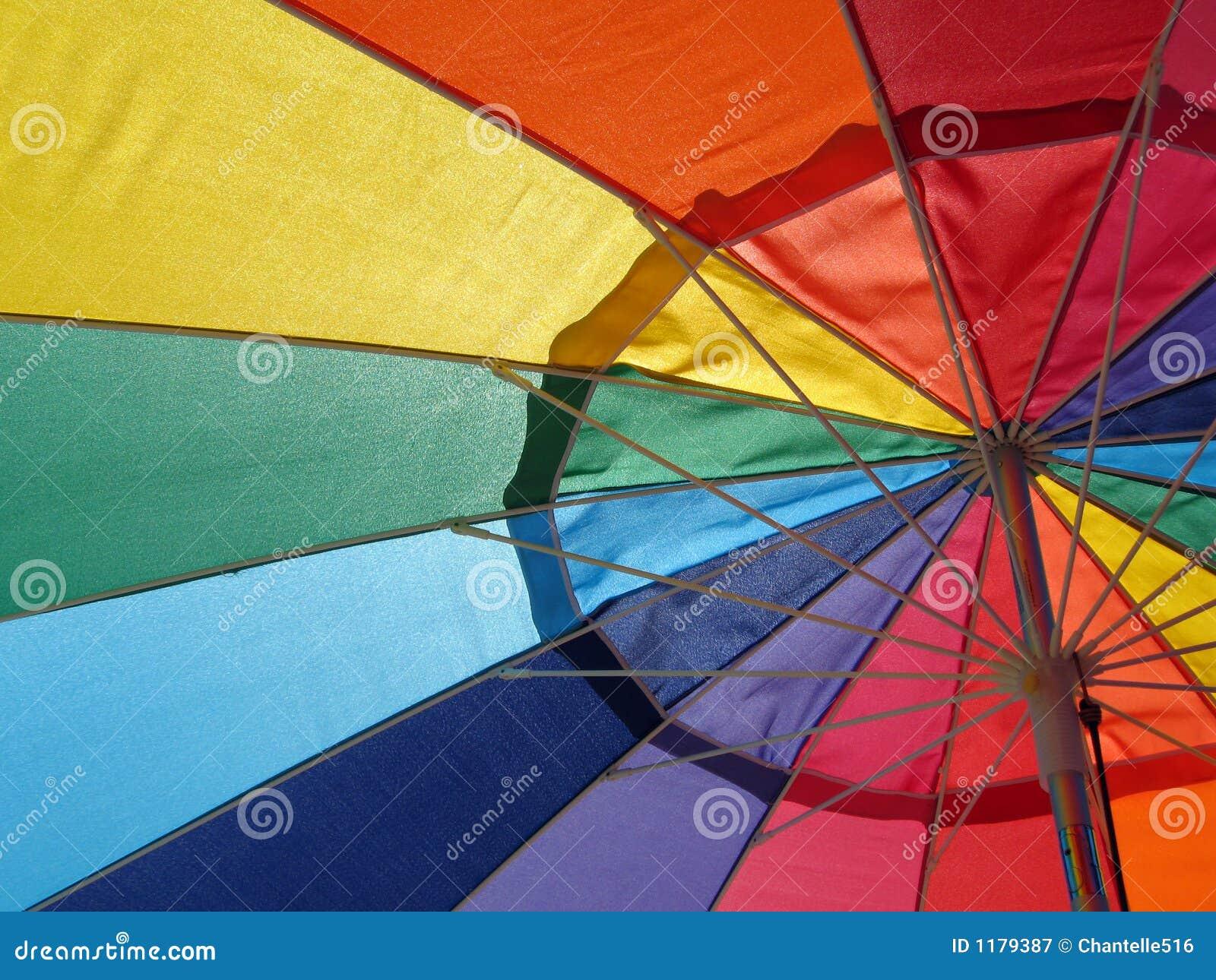 зонтик радуги