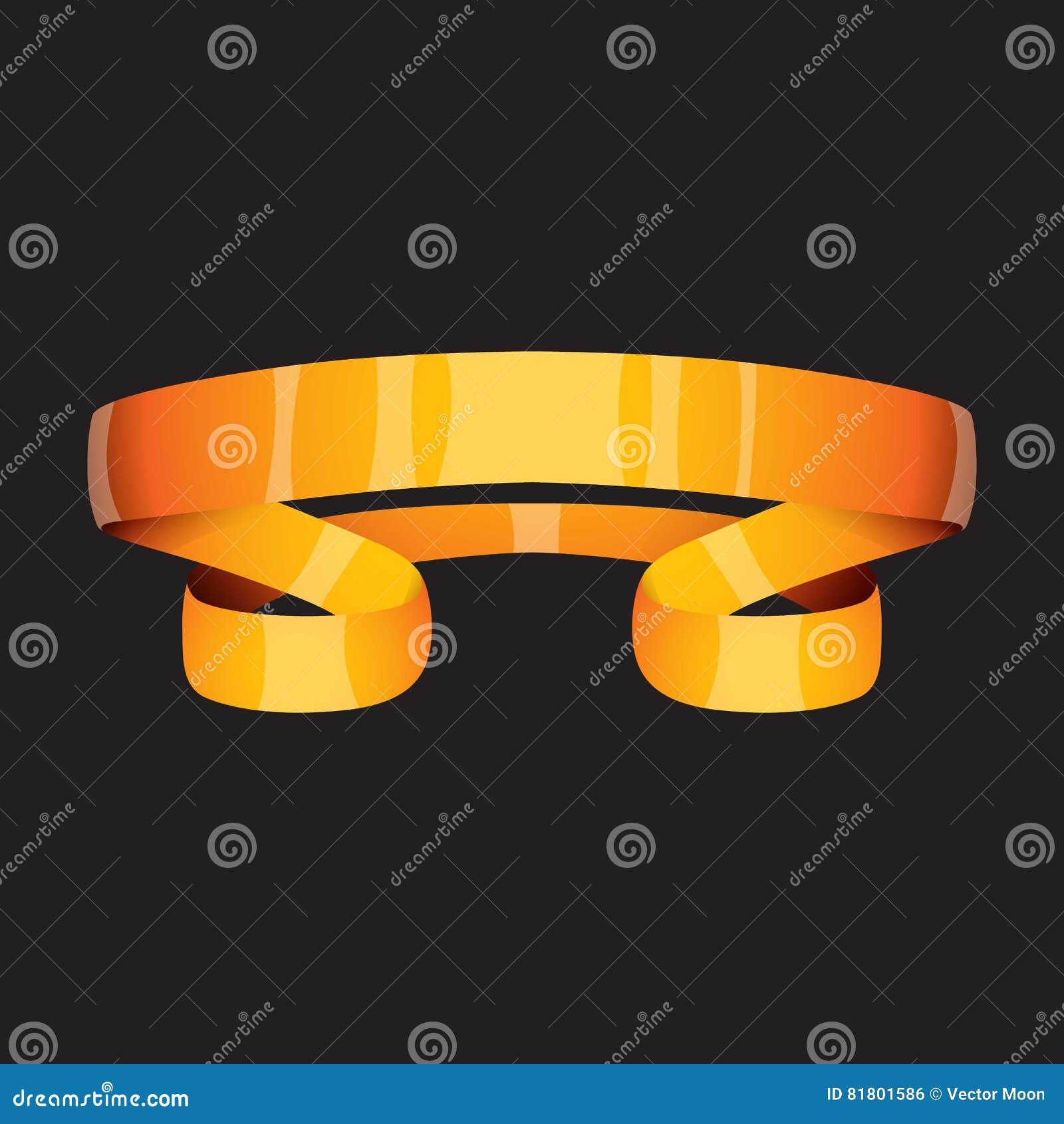 Золотая иллюстрация вектора ленты