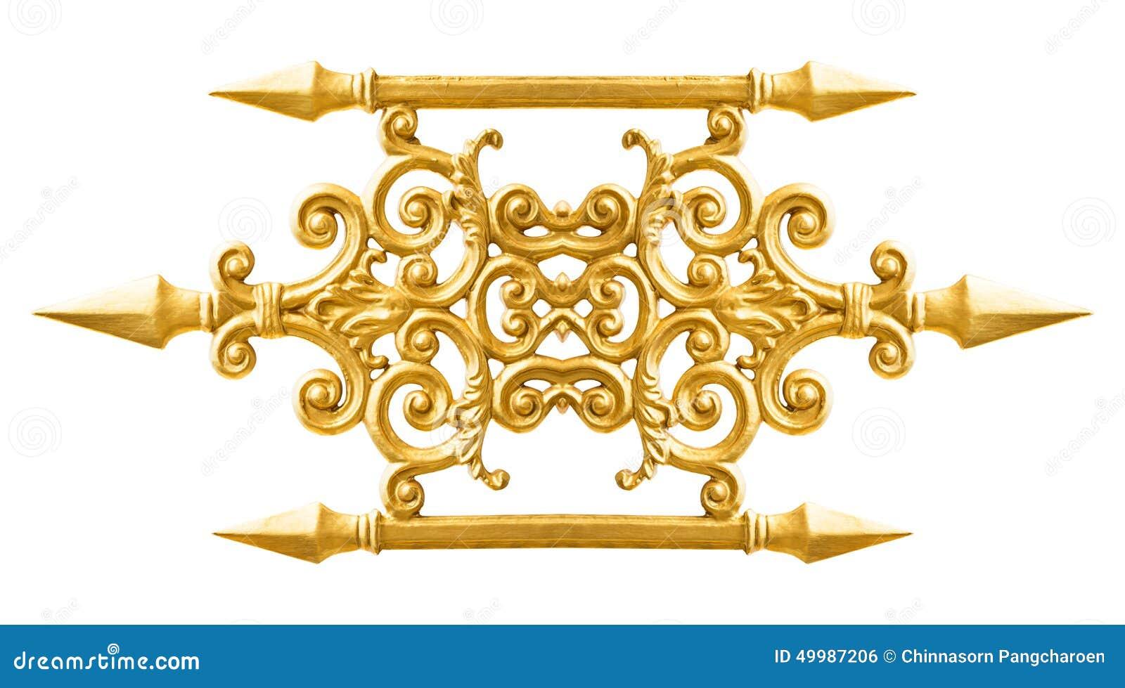 Золотая картина сплава