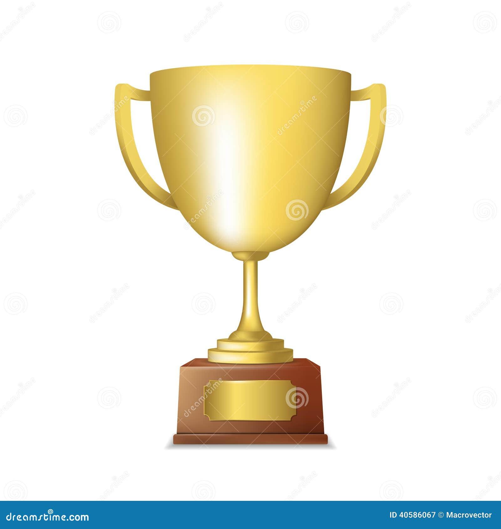 Золотая эмблема трофея
