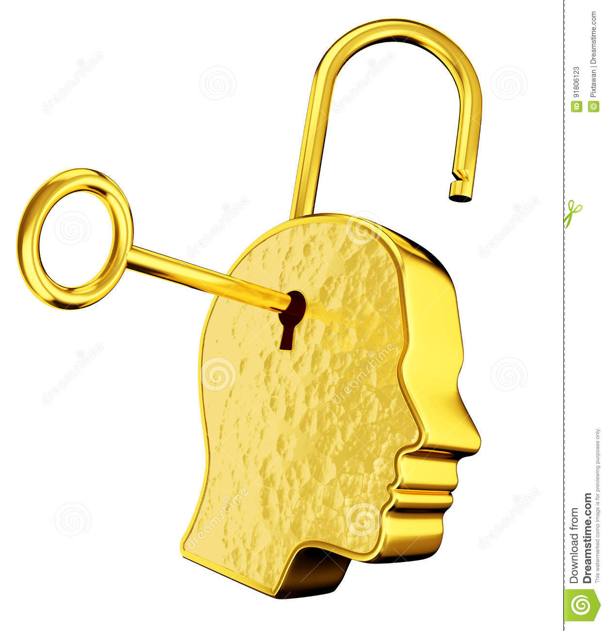 gold keyhole clipart - 800×896