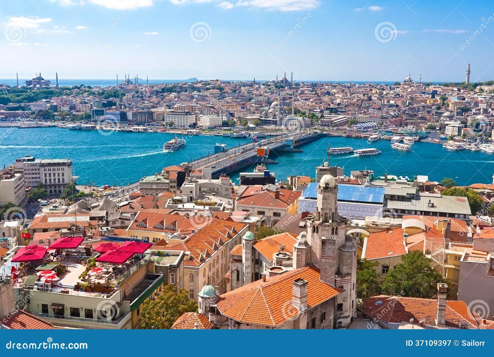 Золотой рожок в Стамбуле
