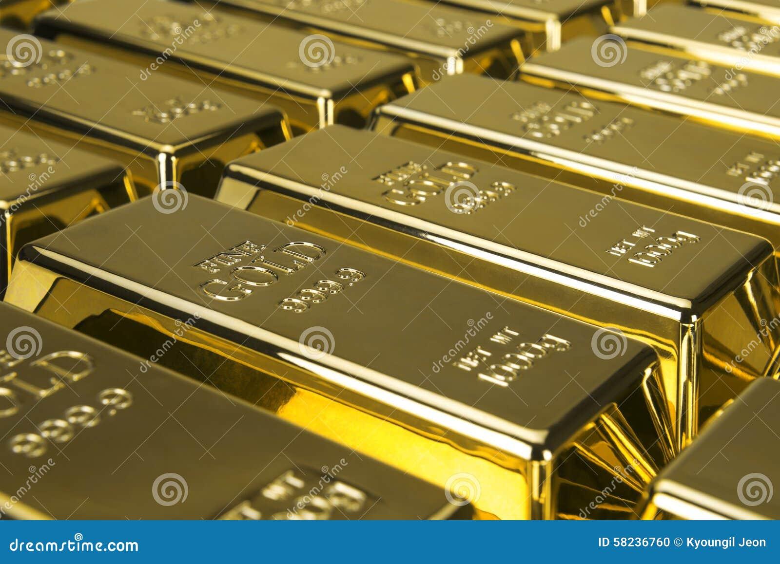 Золото в слитках и финансовая концепция