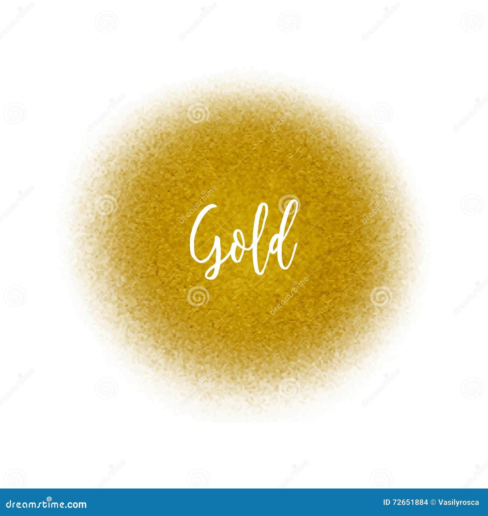 Золотые частицы точки брызга Золотой splatter airbrush