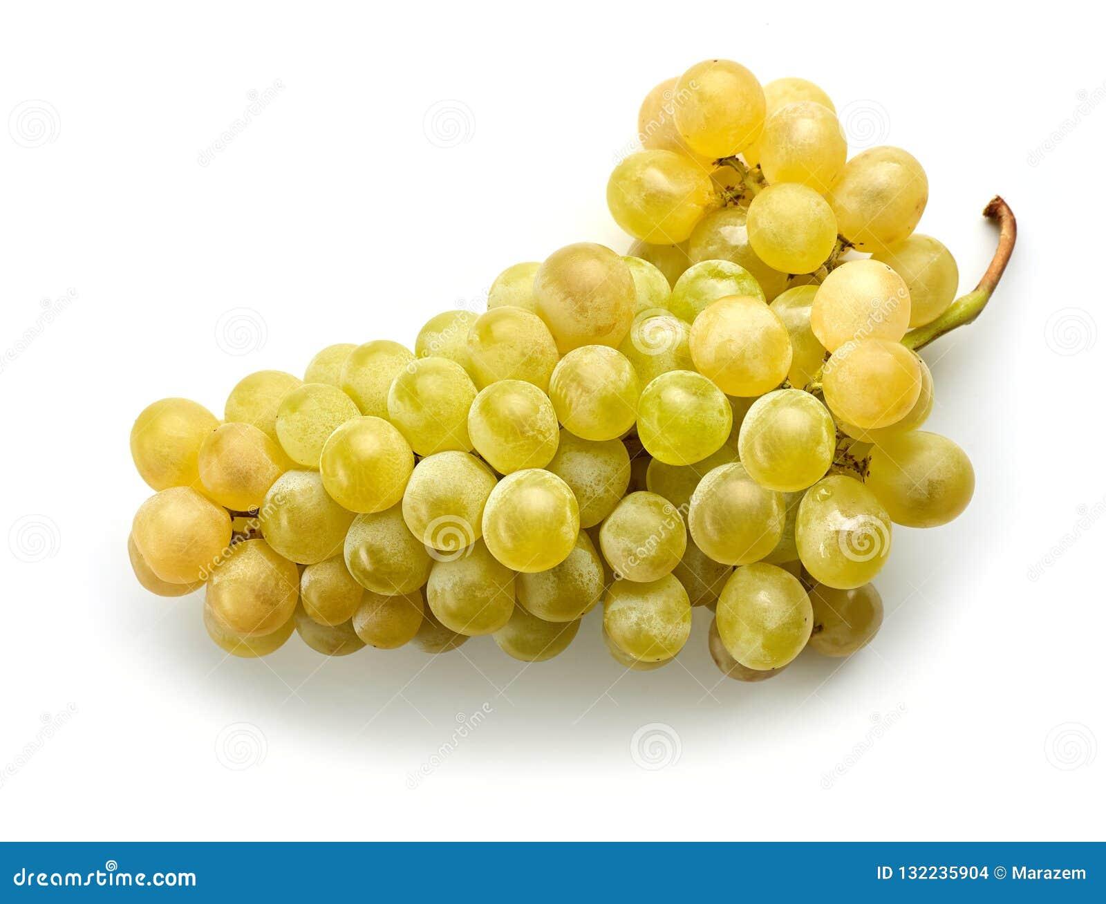зрелое виноградины зеленое