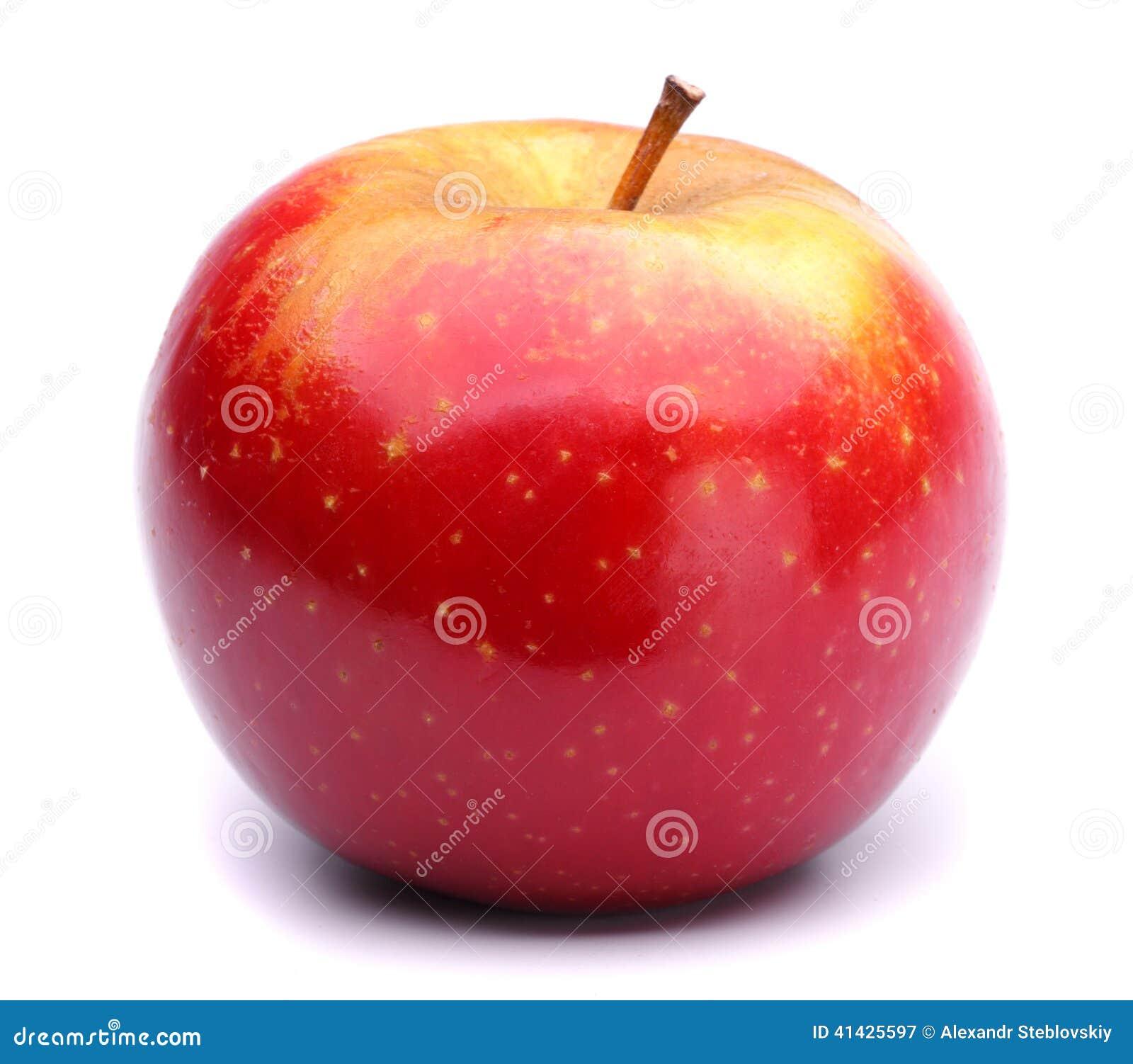 зрелое яблока красное