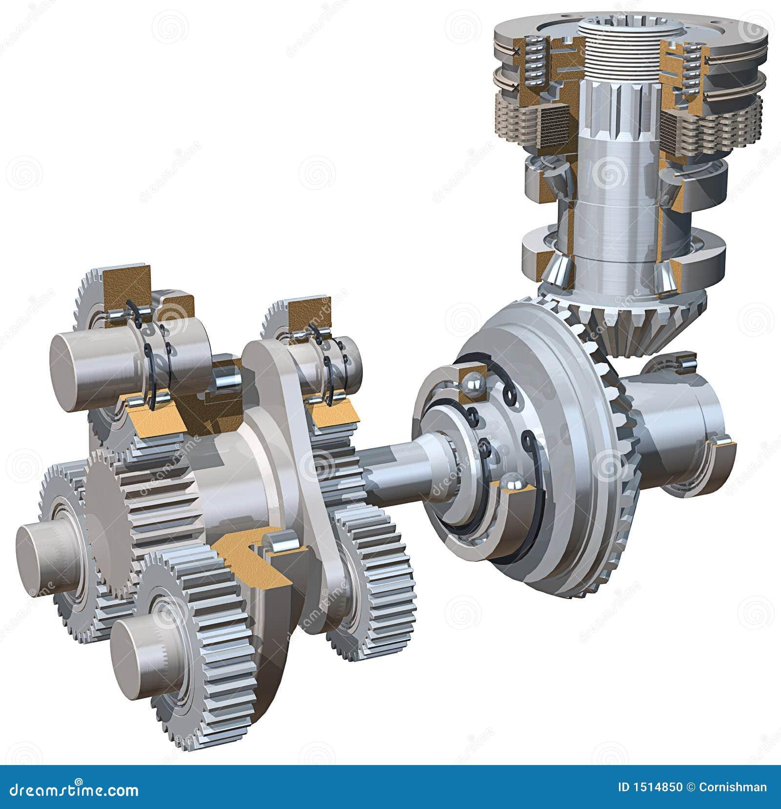 зубчатые колеса привода