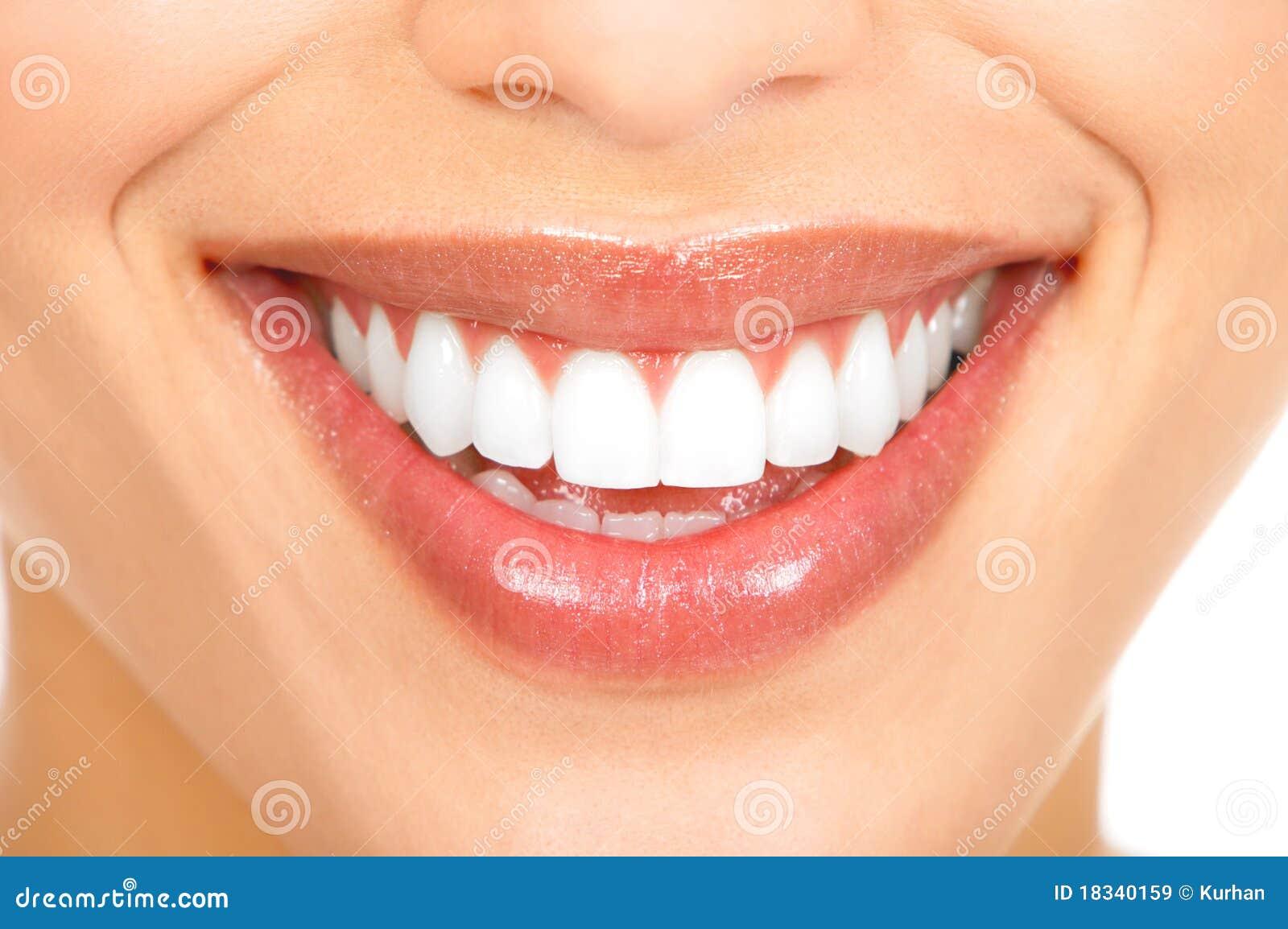 зубы усмешки