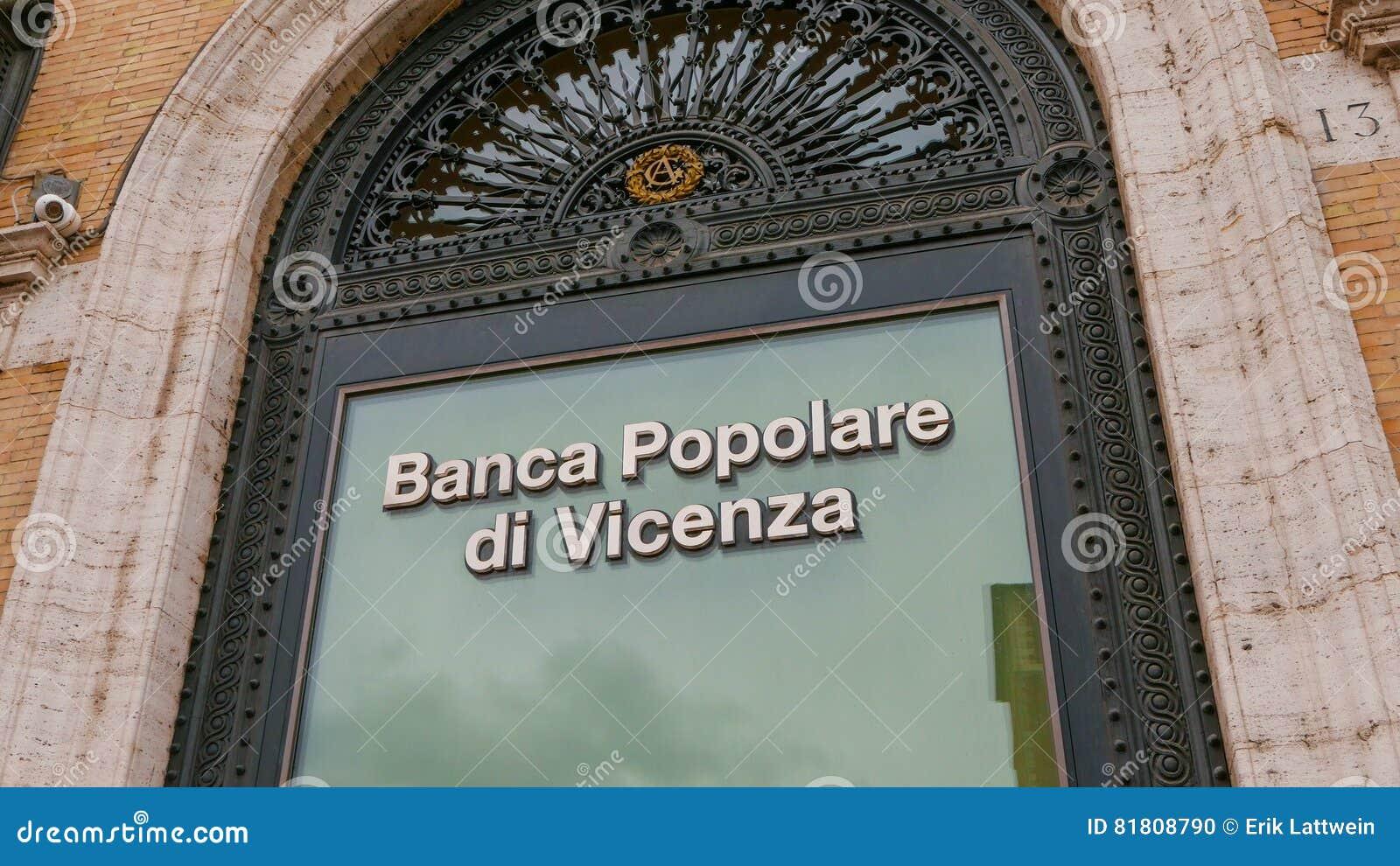 Здание банка в Риме - Banca Popolare di Vincenza