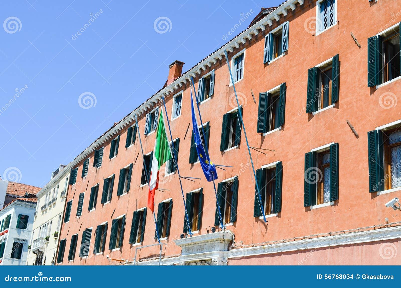Здание Брайна в Венеции, Италии