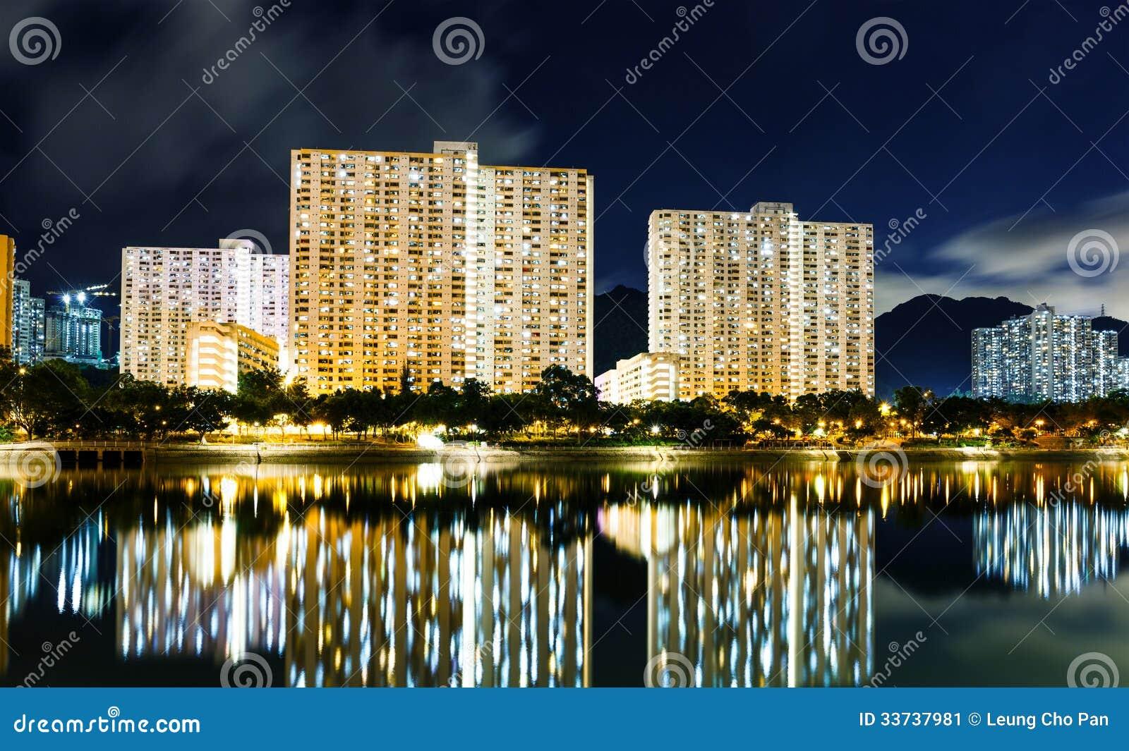 Здание государственного жилого фонда в Гонконге