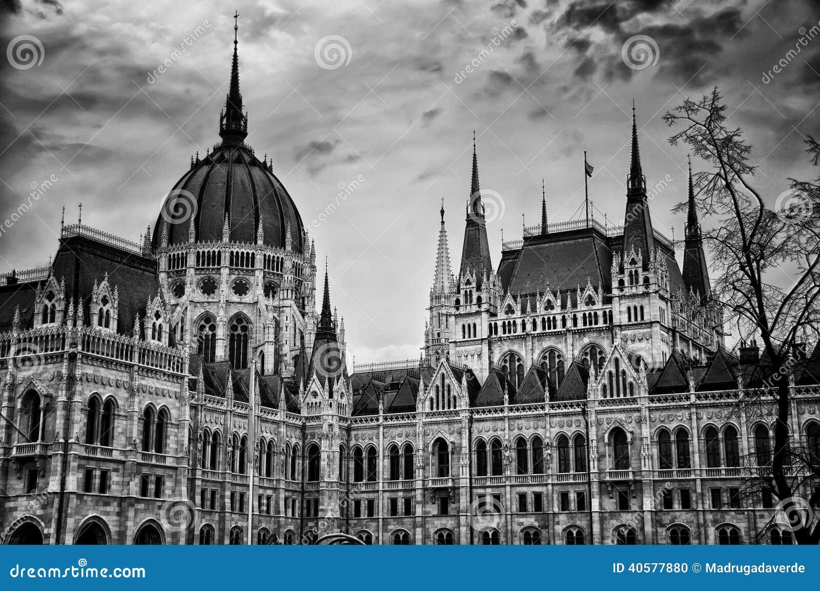 Здание парламента в Будапеште, Венгрии