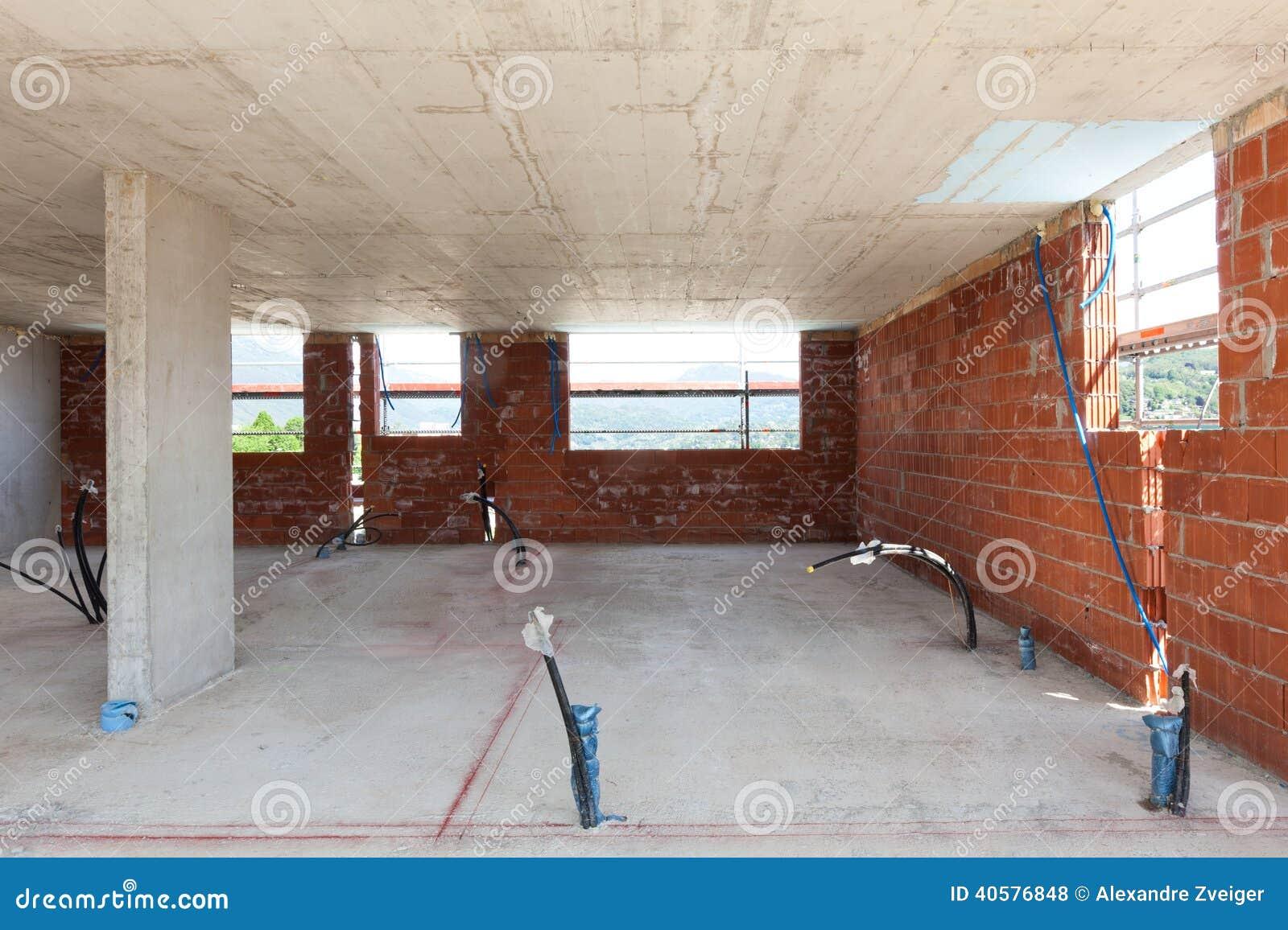 Download Здание, строительная площадка Стоковое Фото - изображение насчитывающей жилище, ново: 40576848